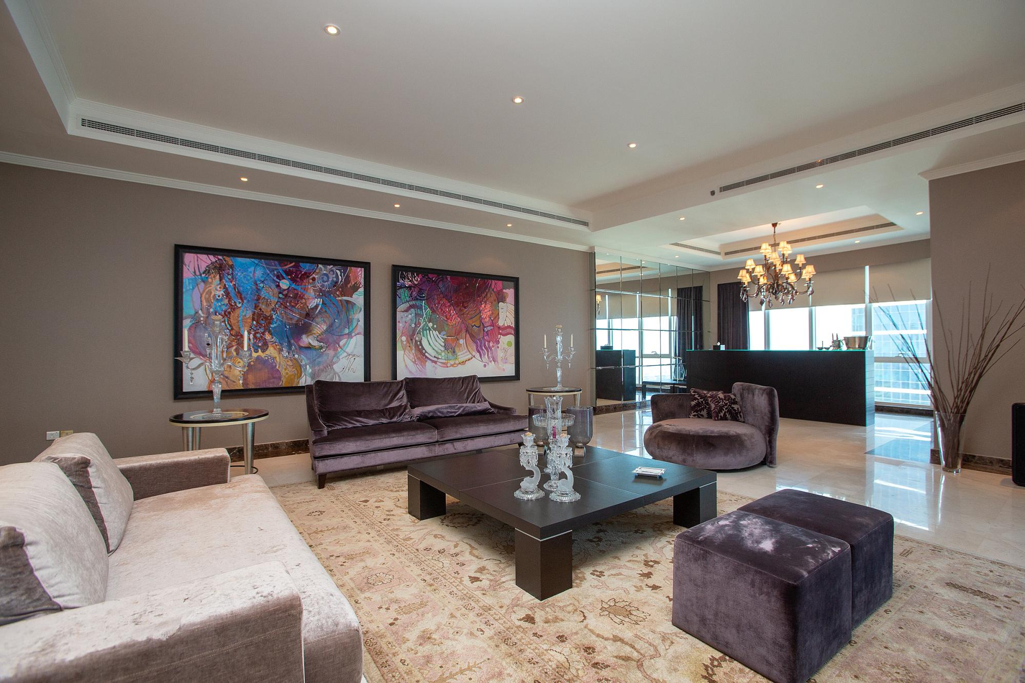 Elegant  Penthouse   Palm  Jumeirah View