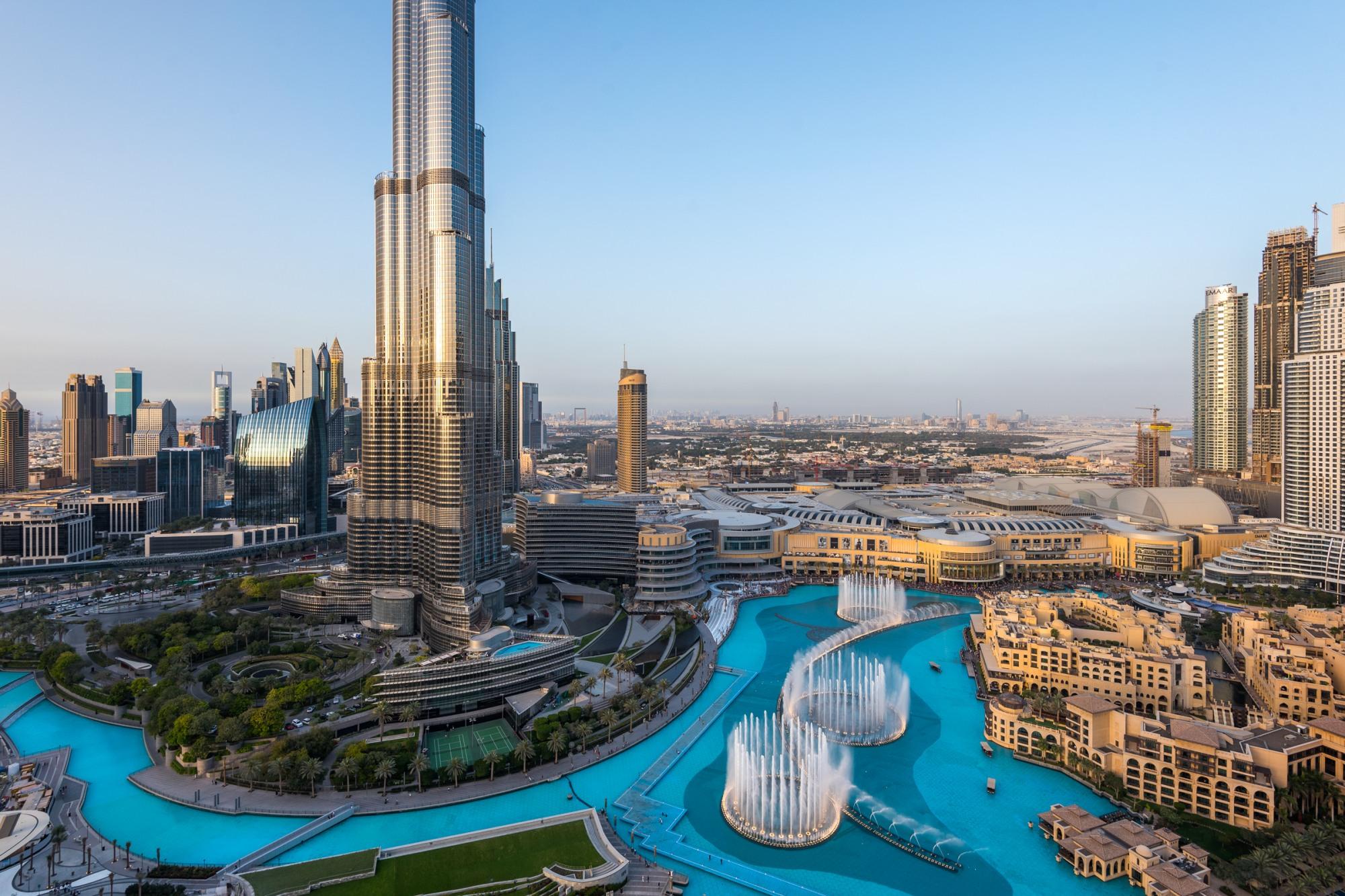 Luxury Penthouse Overlooking Burj