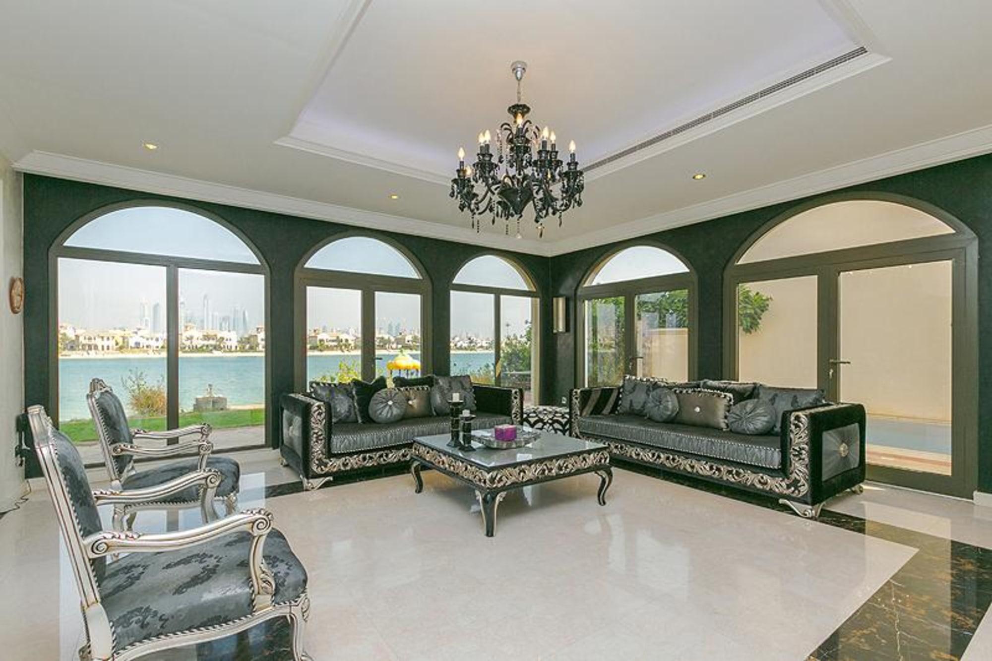 Atrium Entry 4 Bedroom Villa | Full Marina Views
