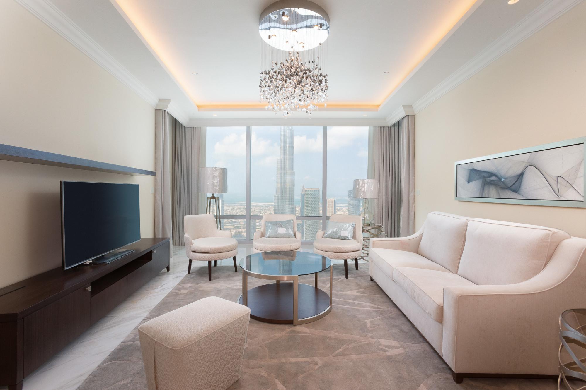 Stunning Burj Khalifa View | 4 Bed Penthouse