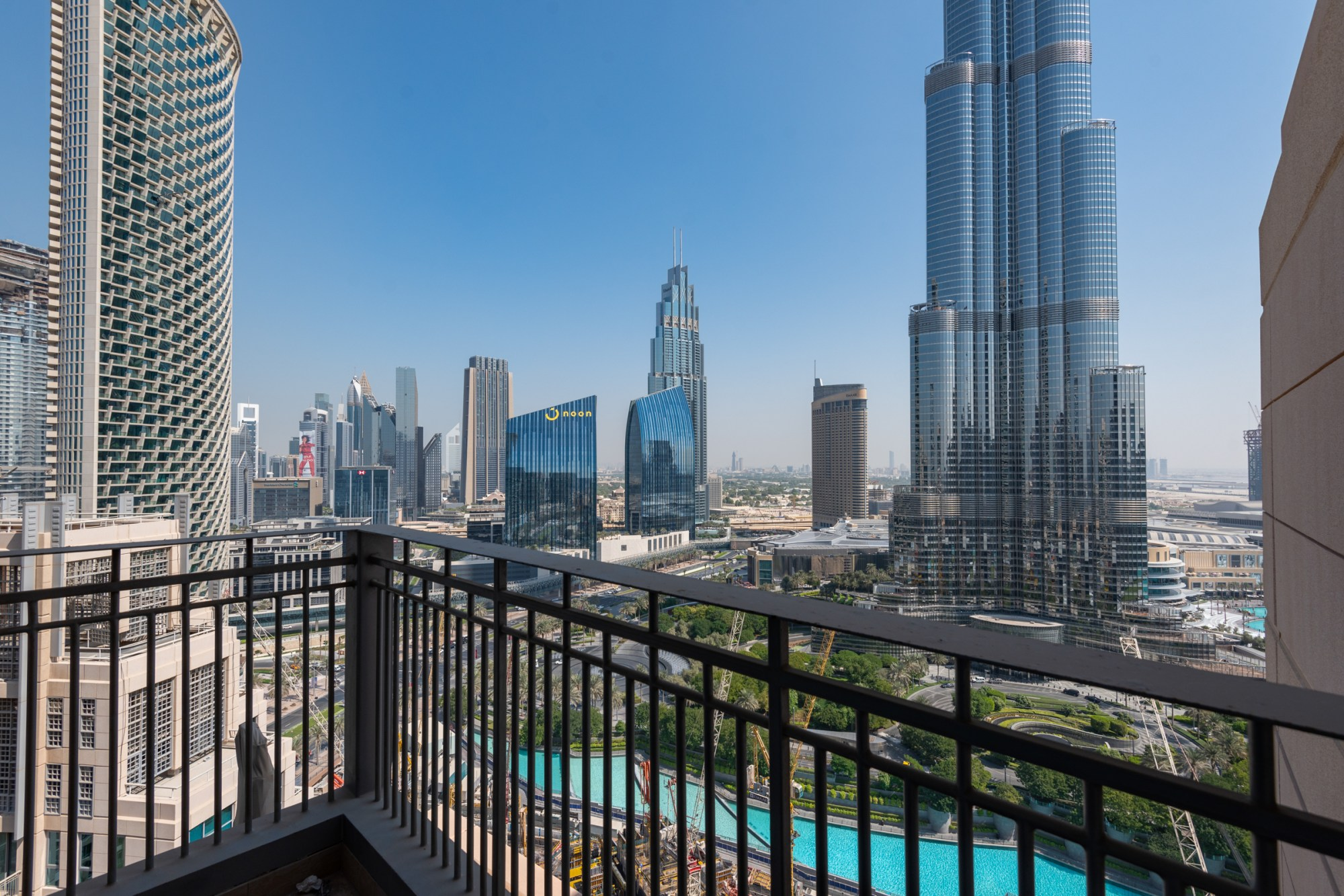 Luxury Furnished 3 Bedroom Burj and Fountain Views