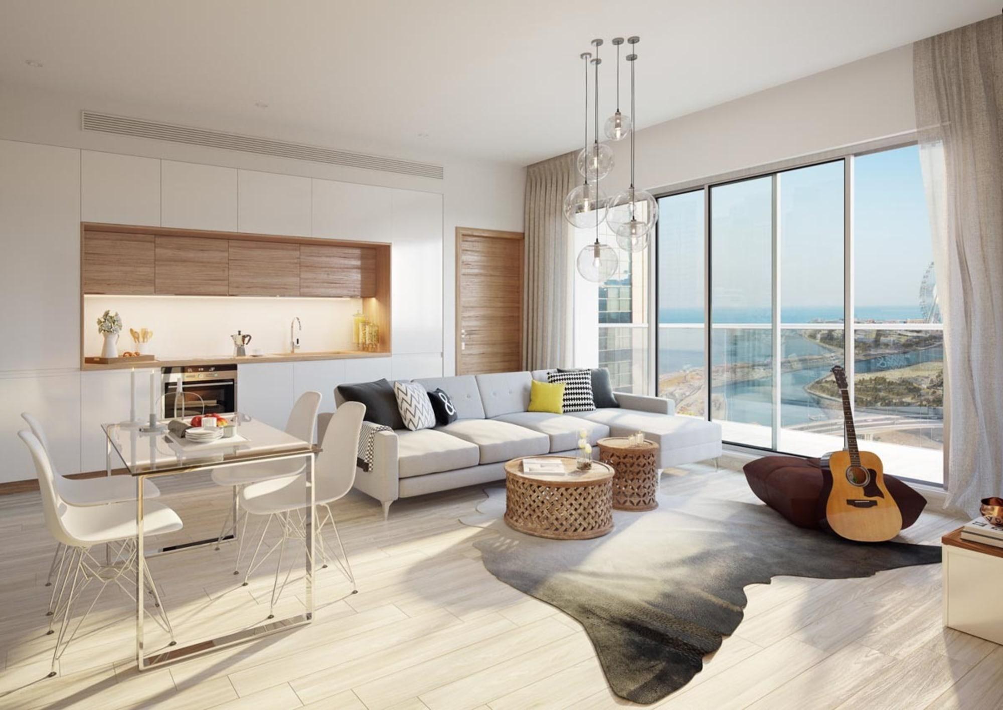 High Floor 1 Bed   Dubai Marina   5% Now