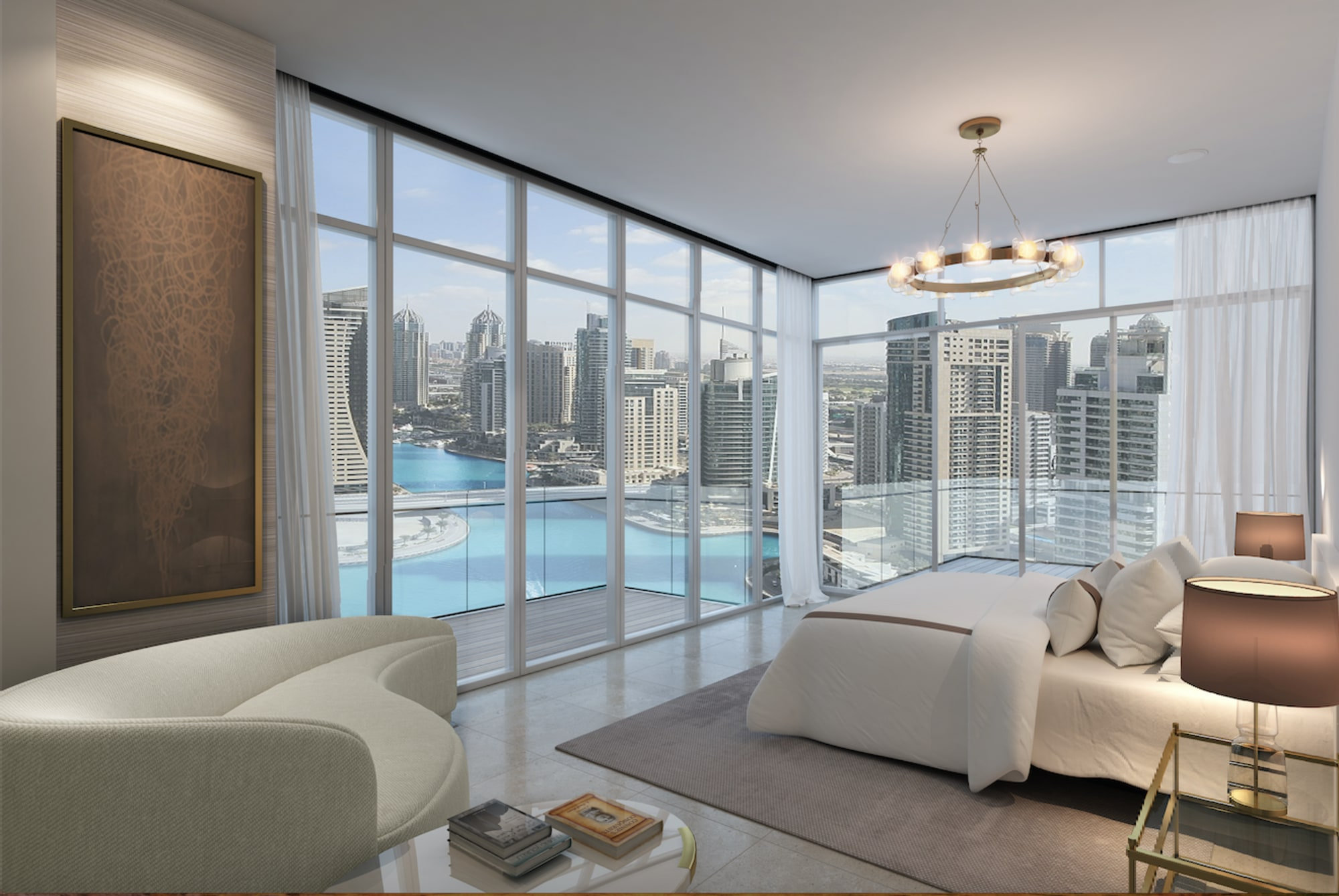 JBR Sea View | Modern 2 Bed Apt | Marina