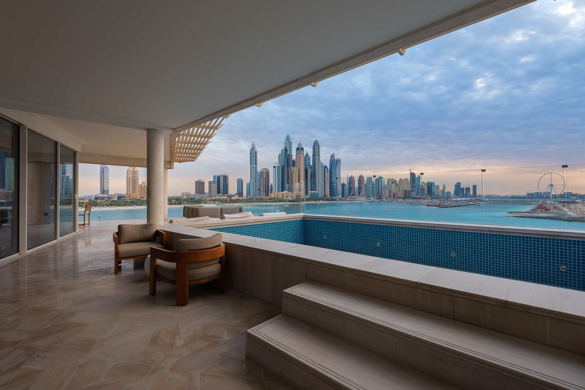 Dynamic | Four Bedrooms | Palm Penthouse