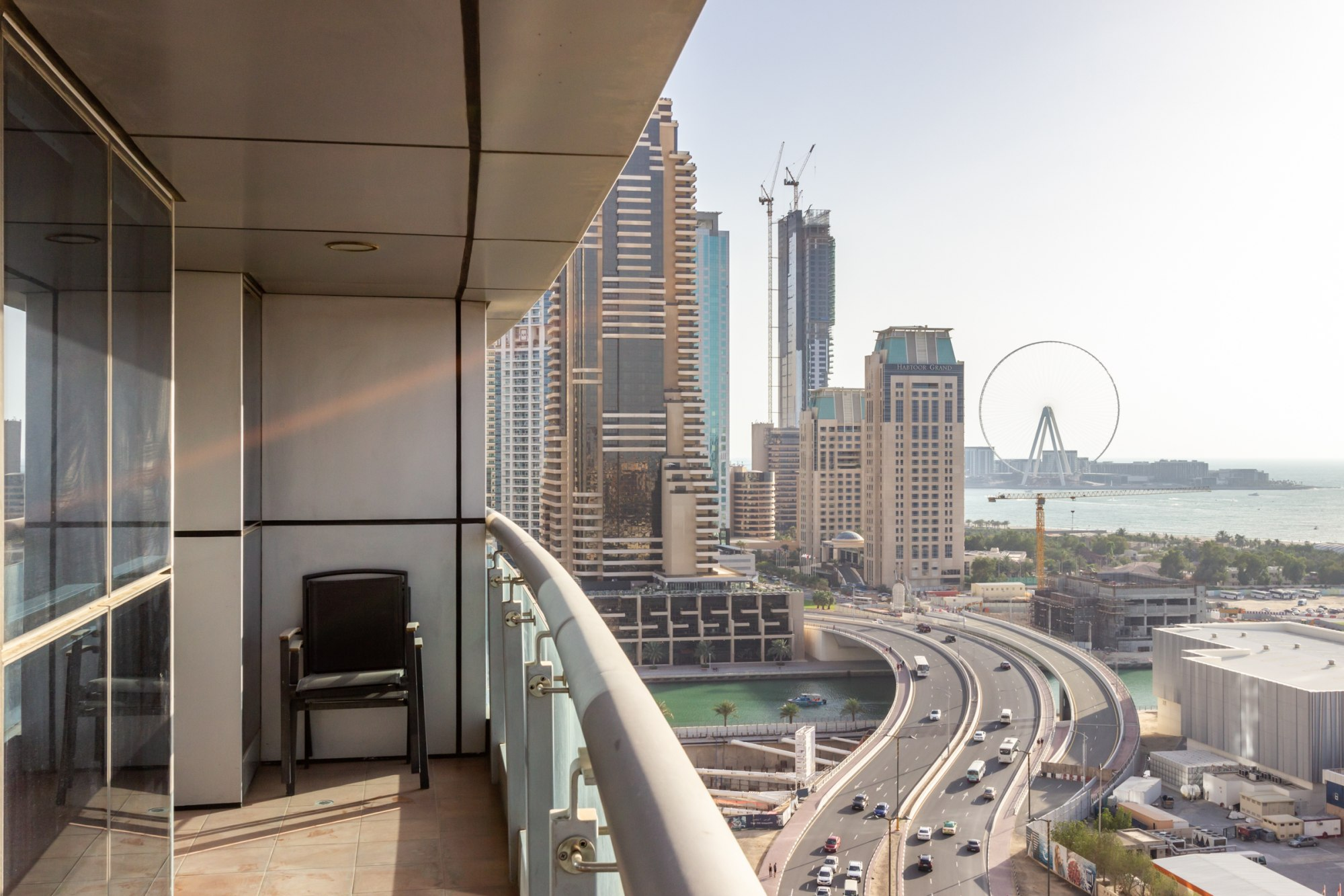 Full Sea View Furnished Two Bed in Princess Tower