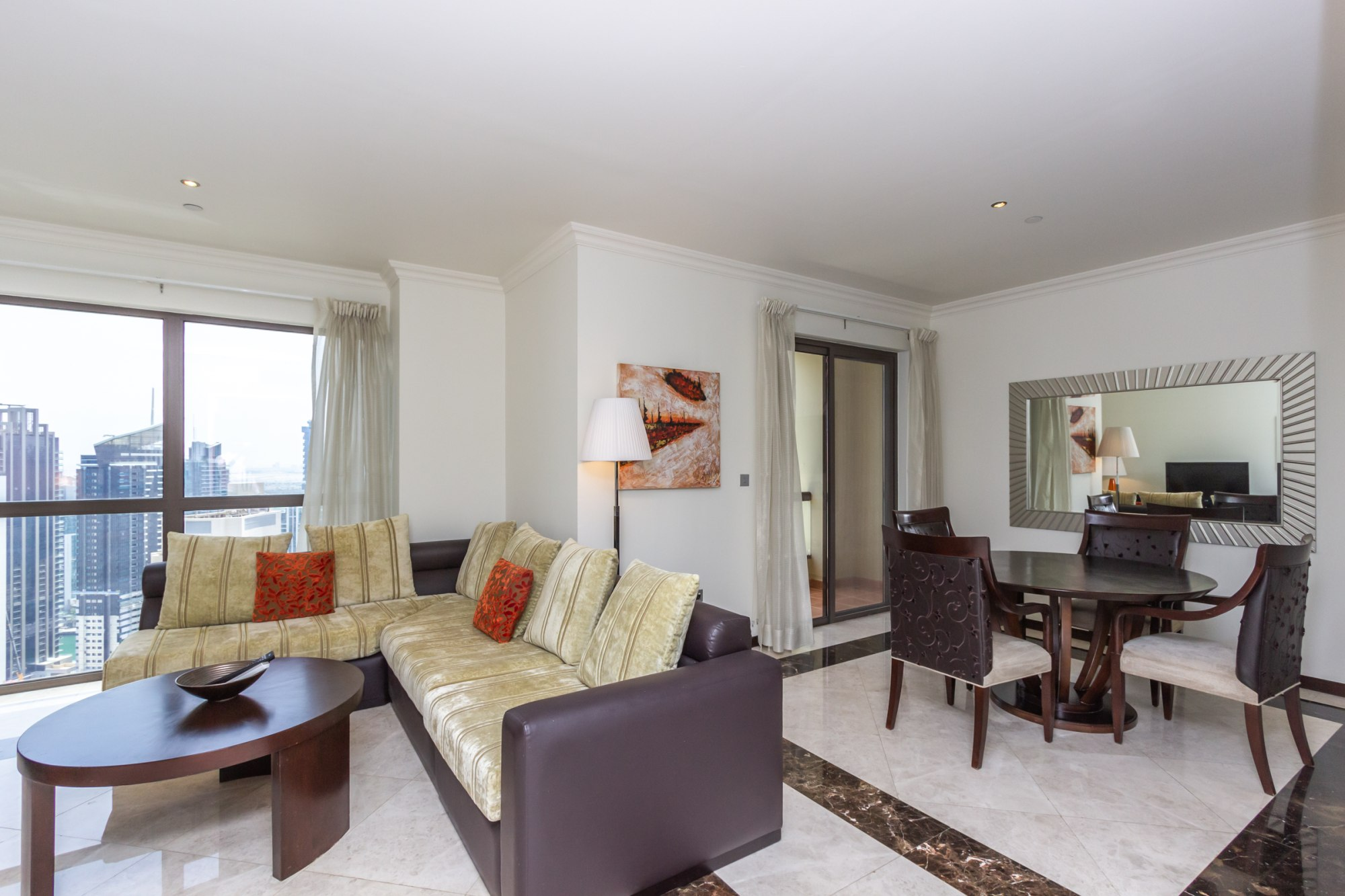 Fully Furnished 3 Bedroom | Marina View | JBR