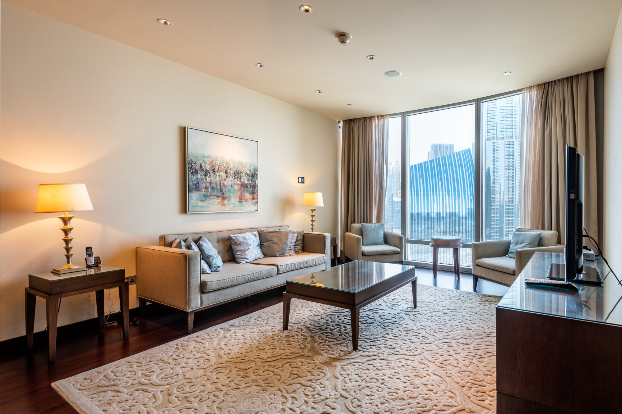 Luxury Furnished | Rare Two Bedroom with Study