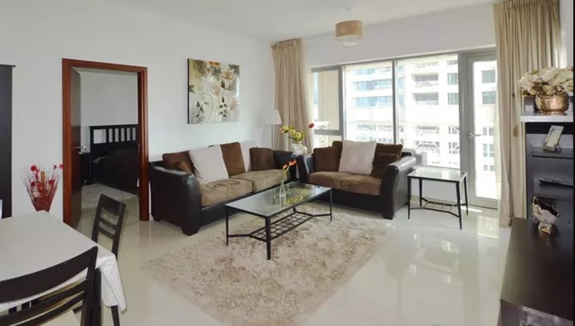 Furnished 1 Bed | Pool View | No Construction