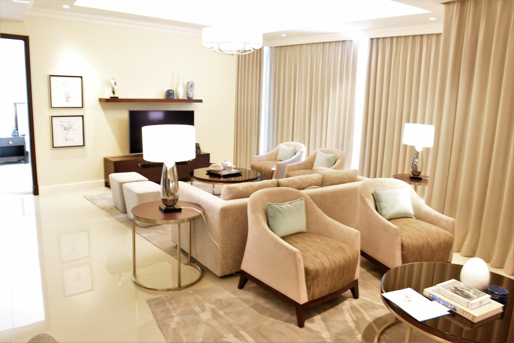 3 + Maids High Floor | Full Burj Khlalifa View