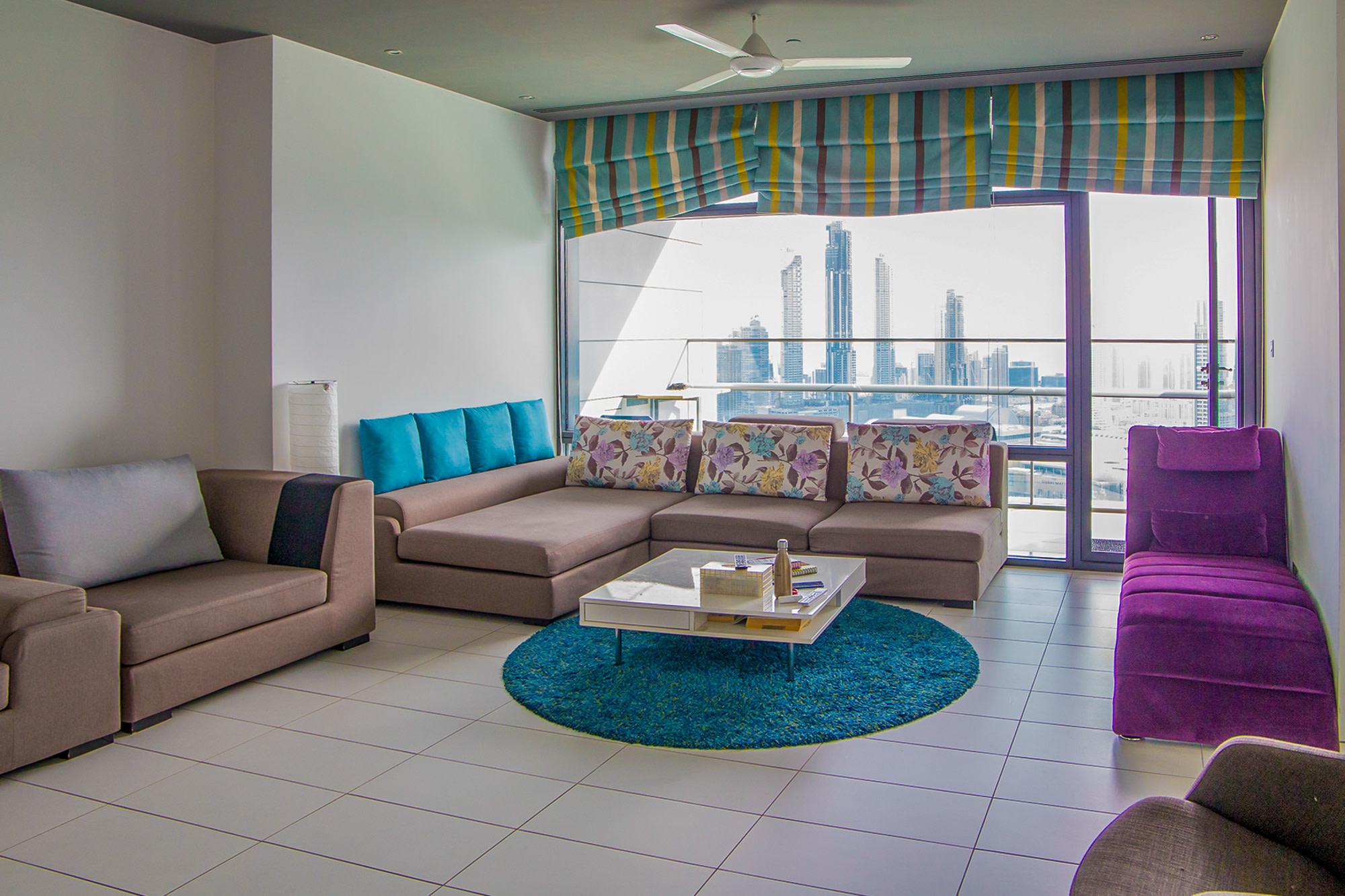 Elegant 2 Bedroom | Balcony | Burj Khalifa view