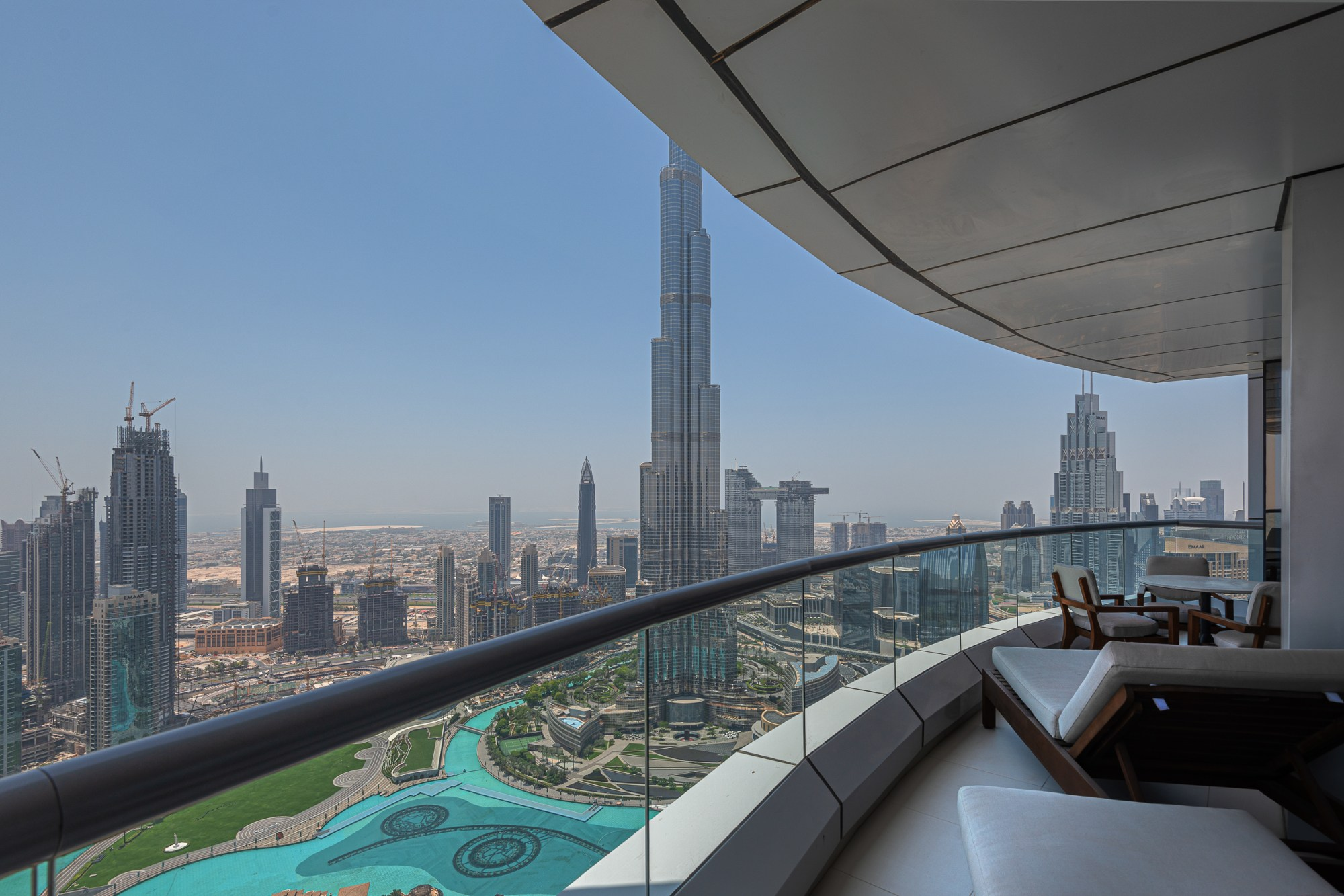 Immaculate Penthouse with Burj and Fountain Views