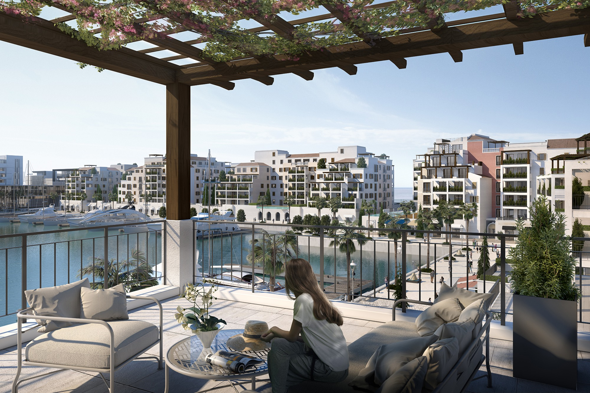 Home in La Mer | Pool and Marina View | Dec 20