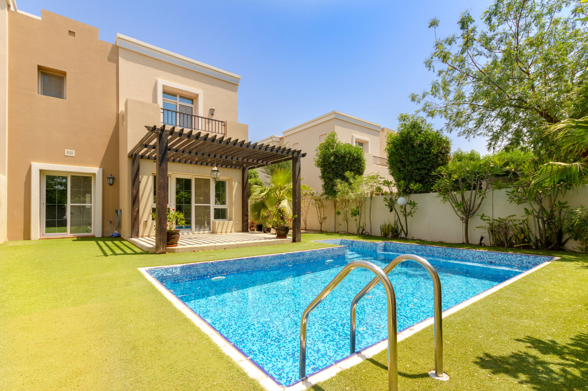 End Unit Villa | Private Pool | Close to Park