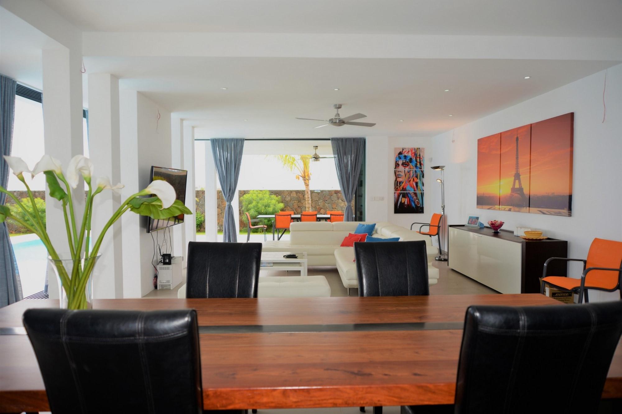 ultra-modern villa on the North coast island