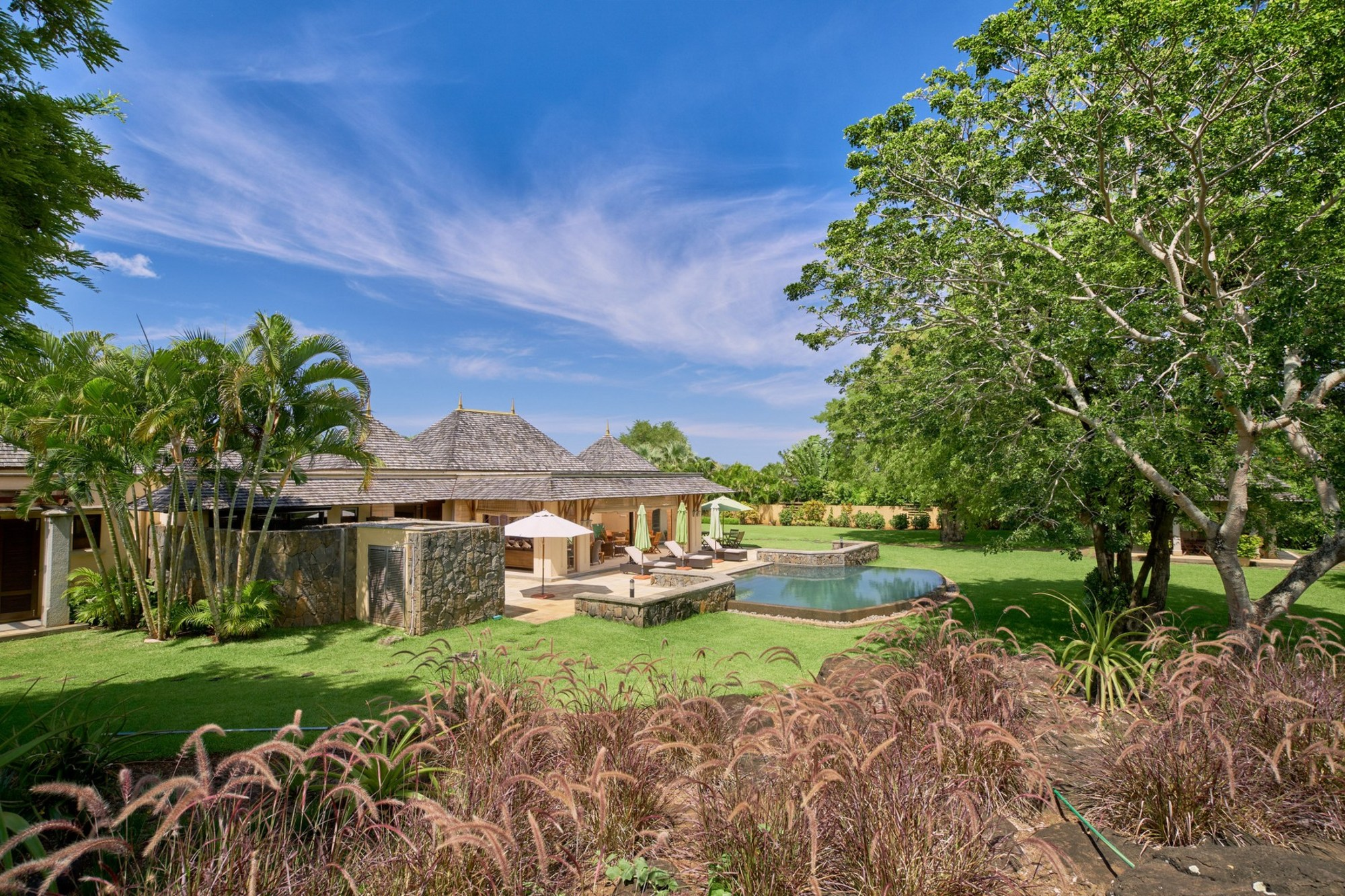 Immaculate villa on scenic west coast of Mauritius