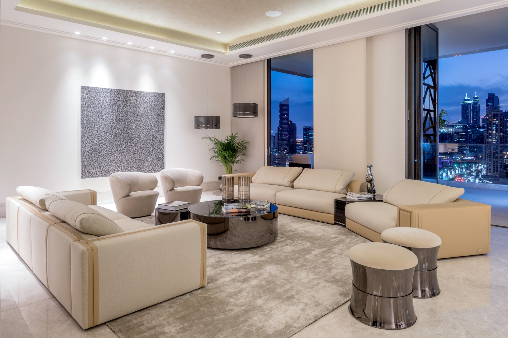 Fully Furnished Contemporary Luxury Penthouse