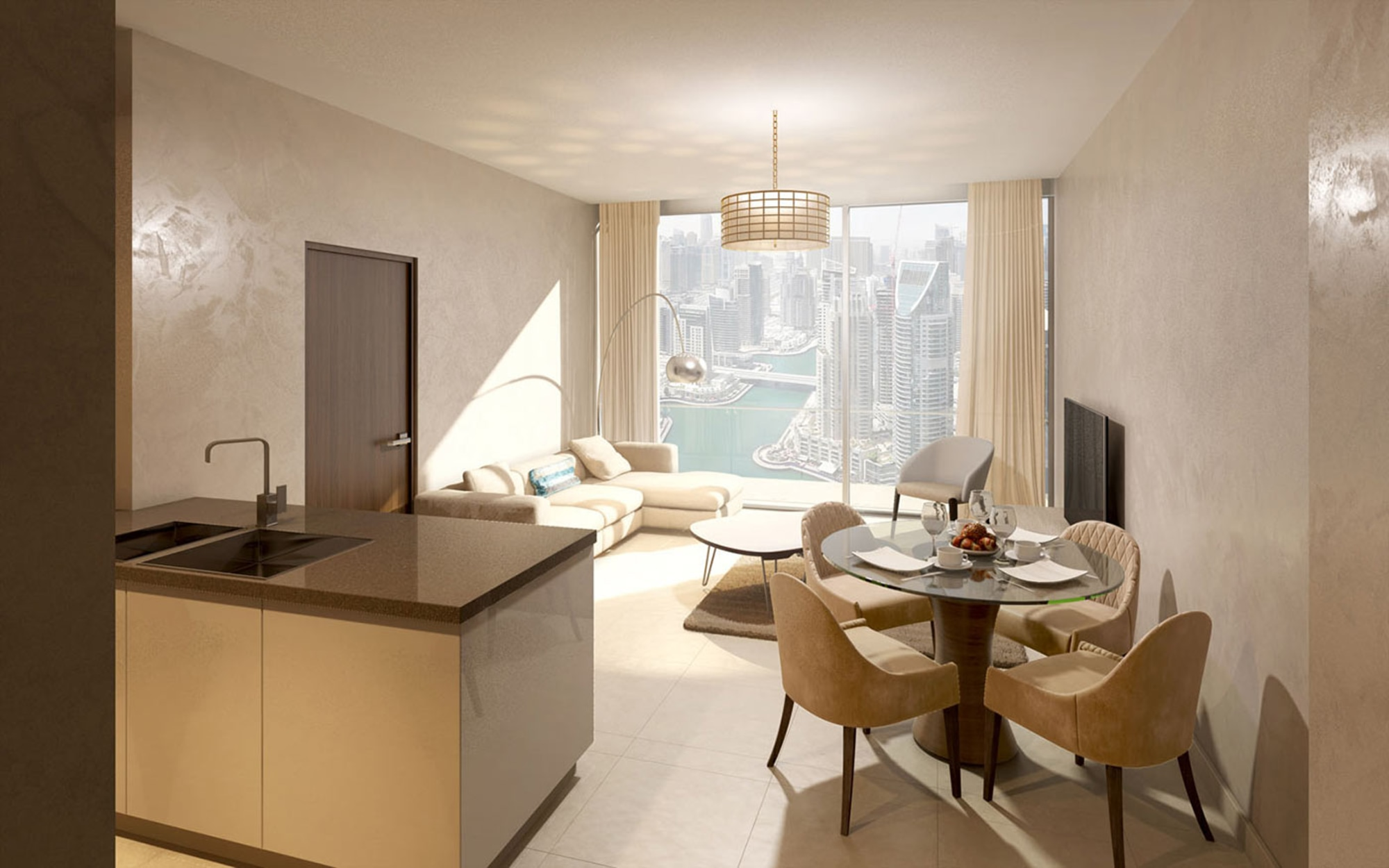 Premium 1 Bedroom Apartment in Marina Gate