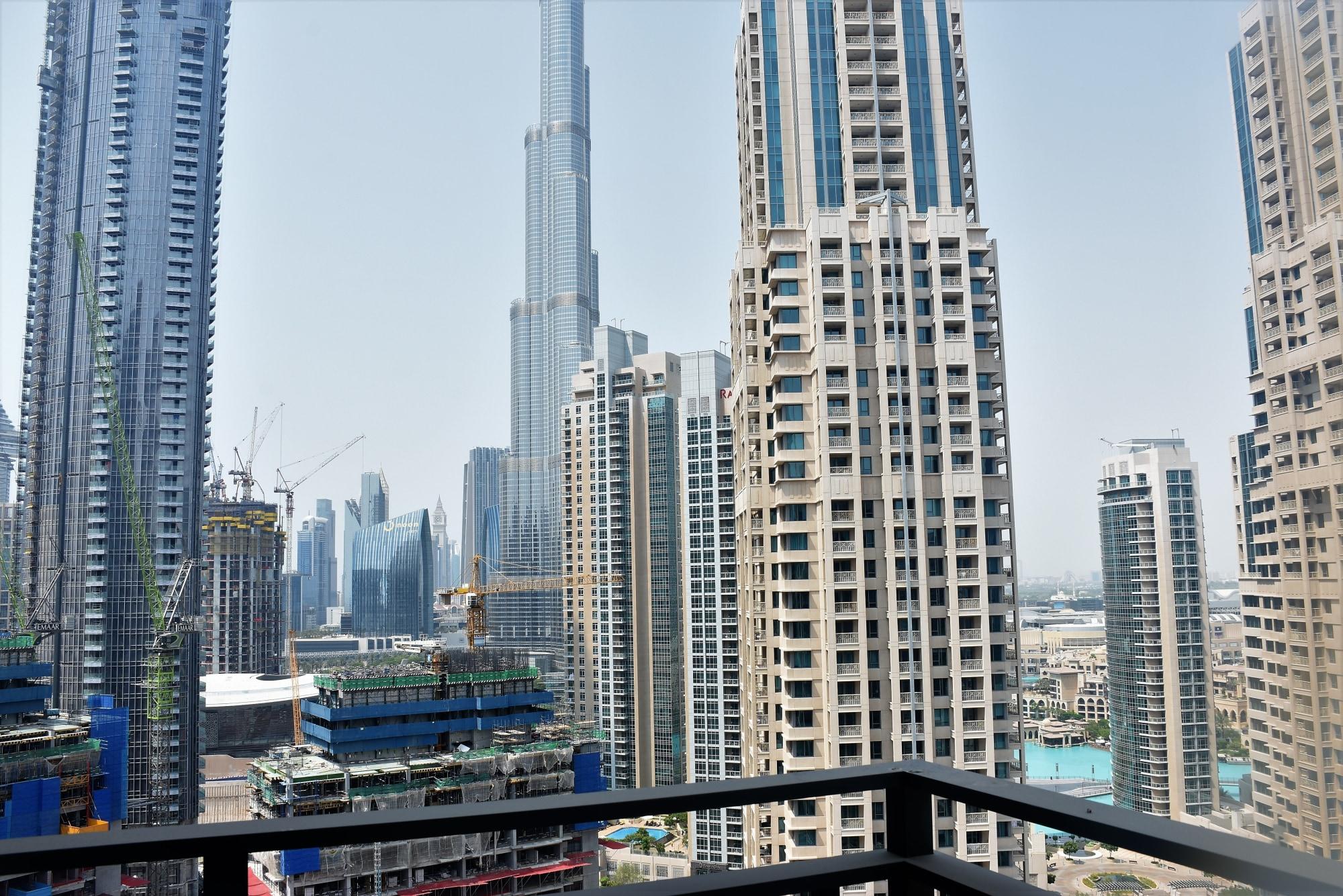 Burj Khalifa View   One Bed+Study   High Floor