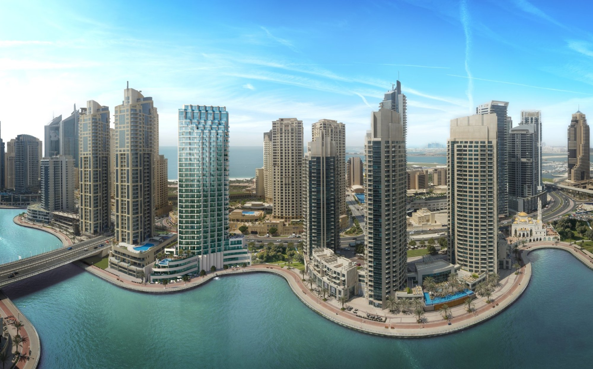 Full Marina View | One Bedroom | Liv residence