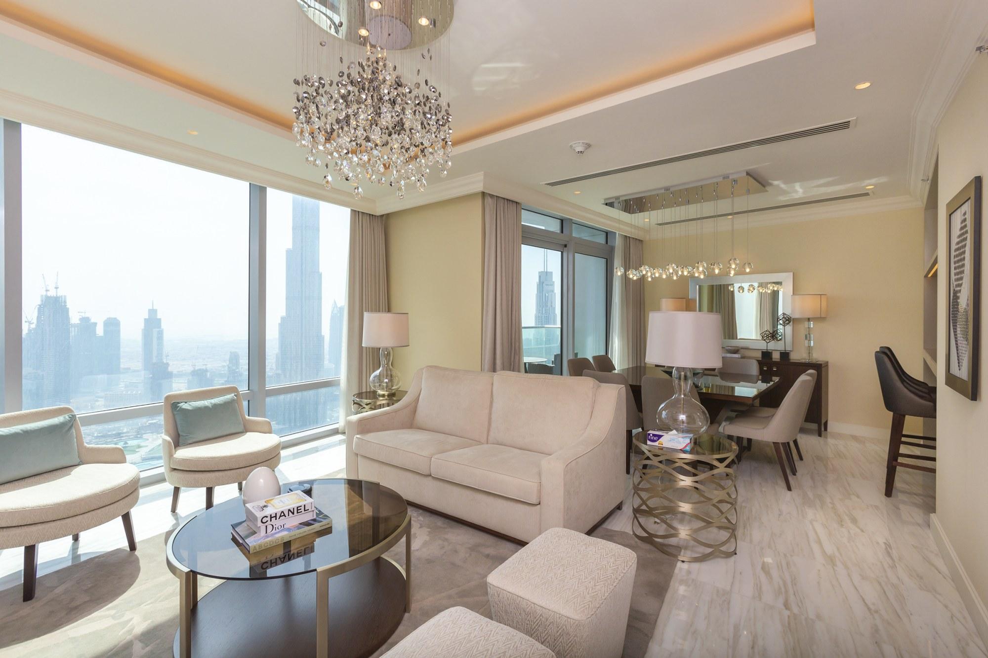 Luxury Duplex Penthouse | Full Fountain Views