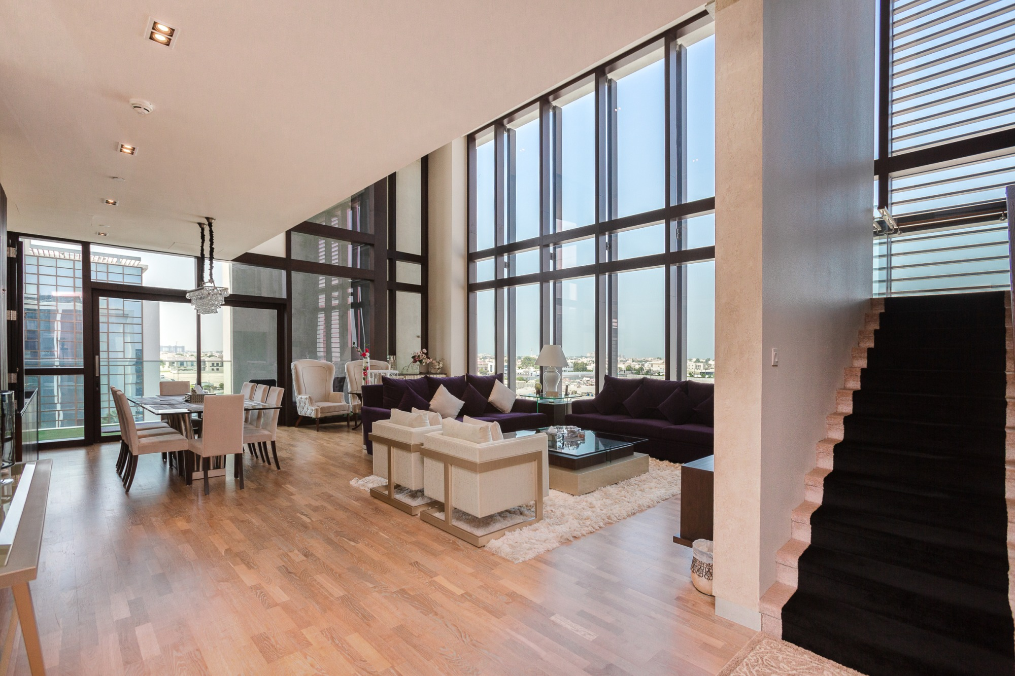 Rare 3-bed duplex apartment City Walk