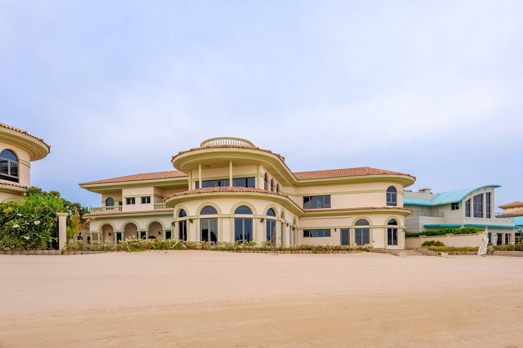 French Riviera Style 5 BR Beachfront Villa