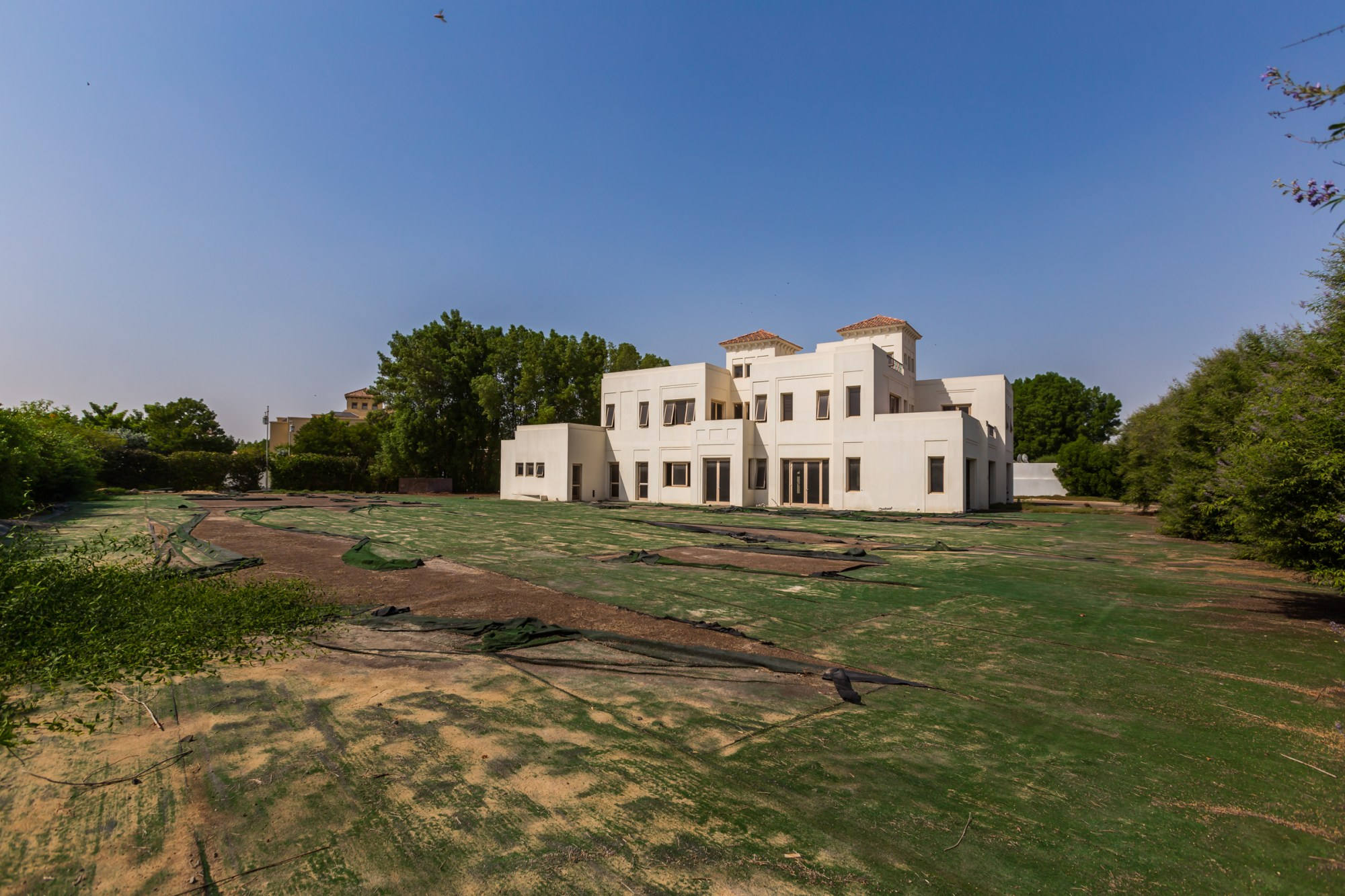 Huge land  42000 sqft with a shell & core villa