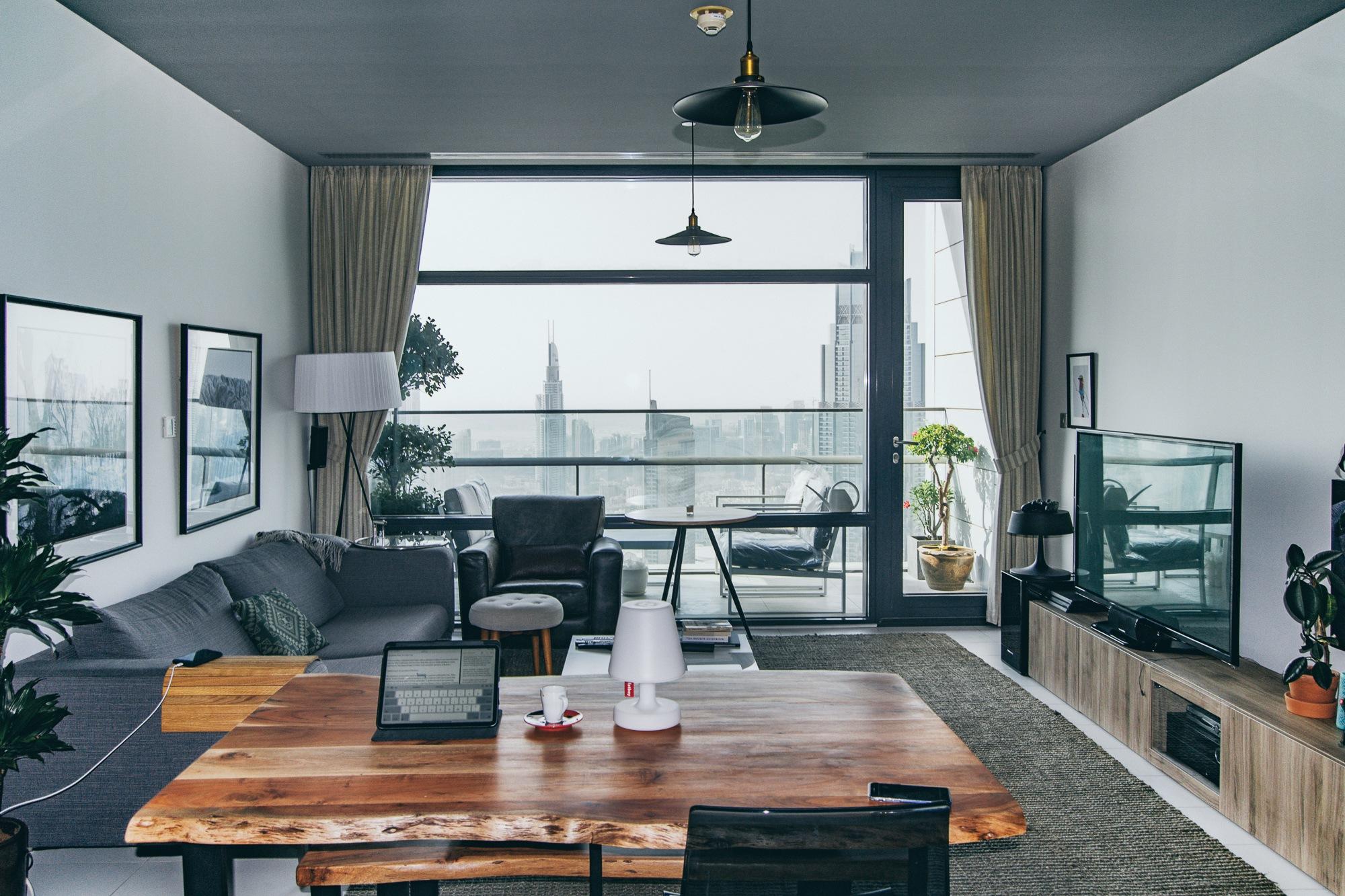 1BR Unique Layout | Spacious Balcony | Burj View