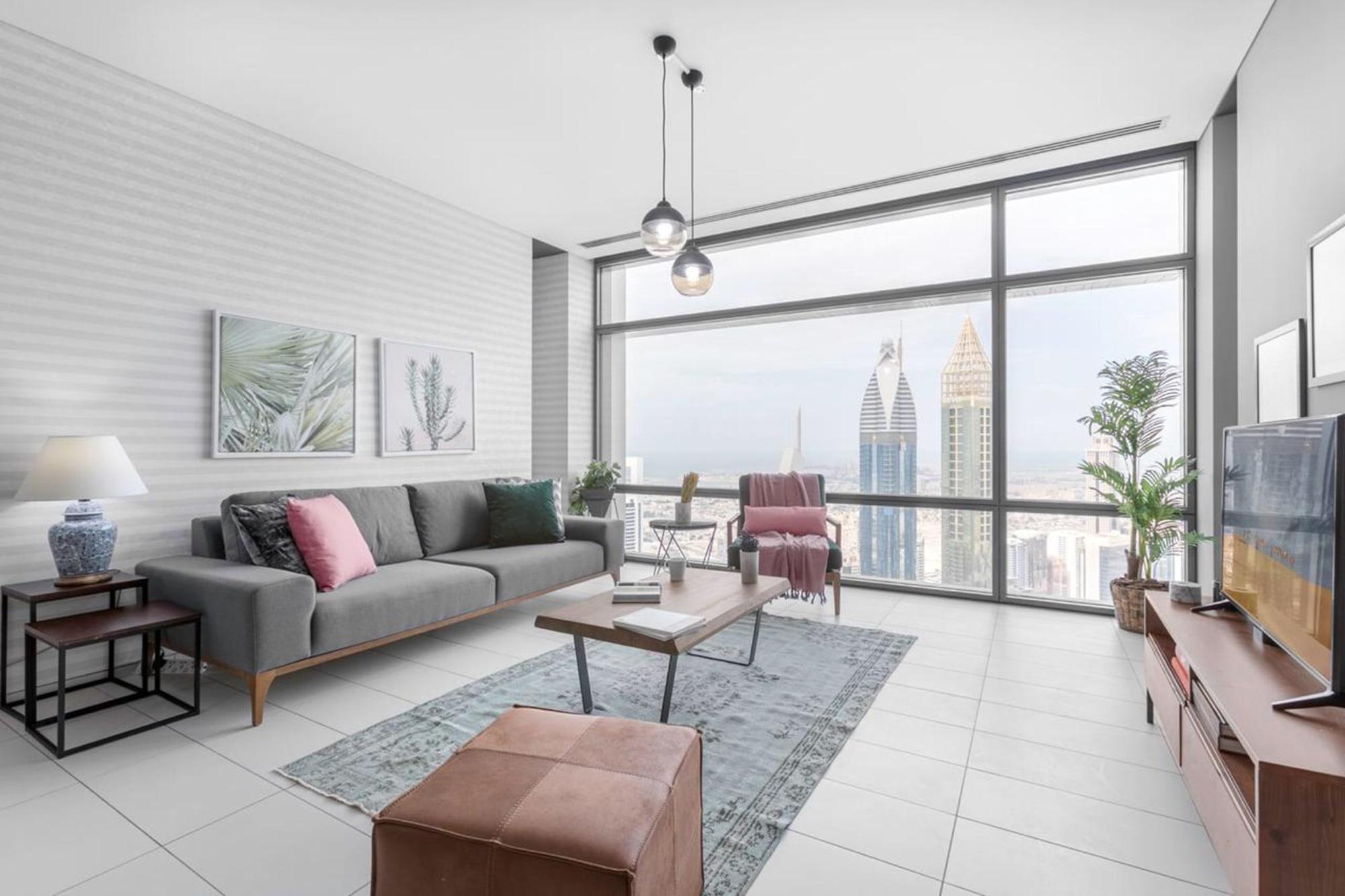 Modern 2 Bedroom Apt | Stunning DIFC & Sea View