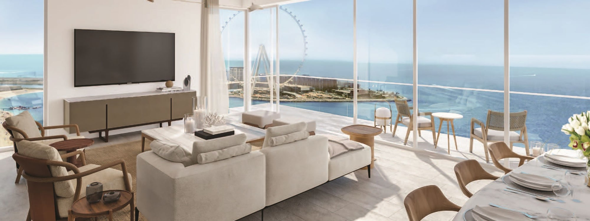 Limited 2 Bed | Sea View | Direct Beach Access