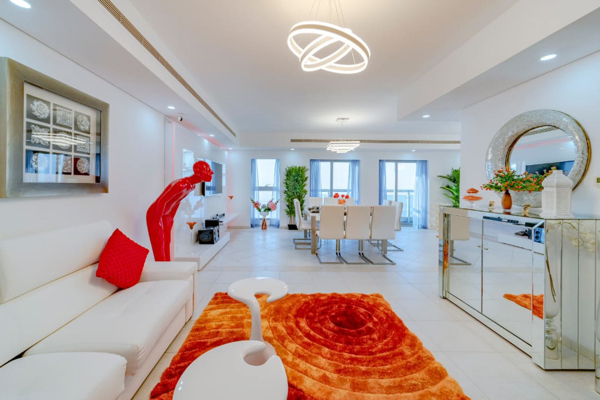 High floor renovated | Full sea and Palm view