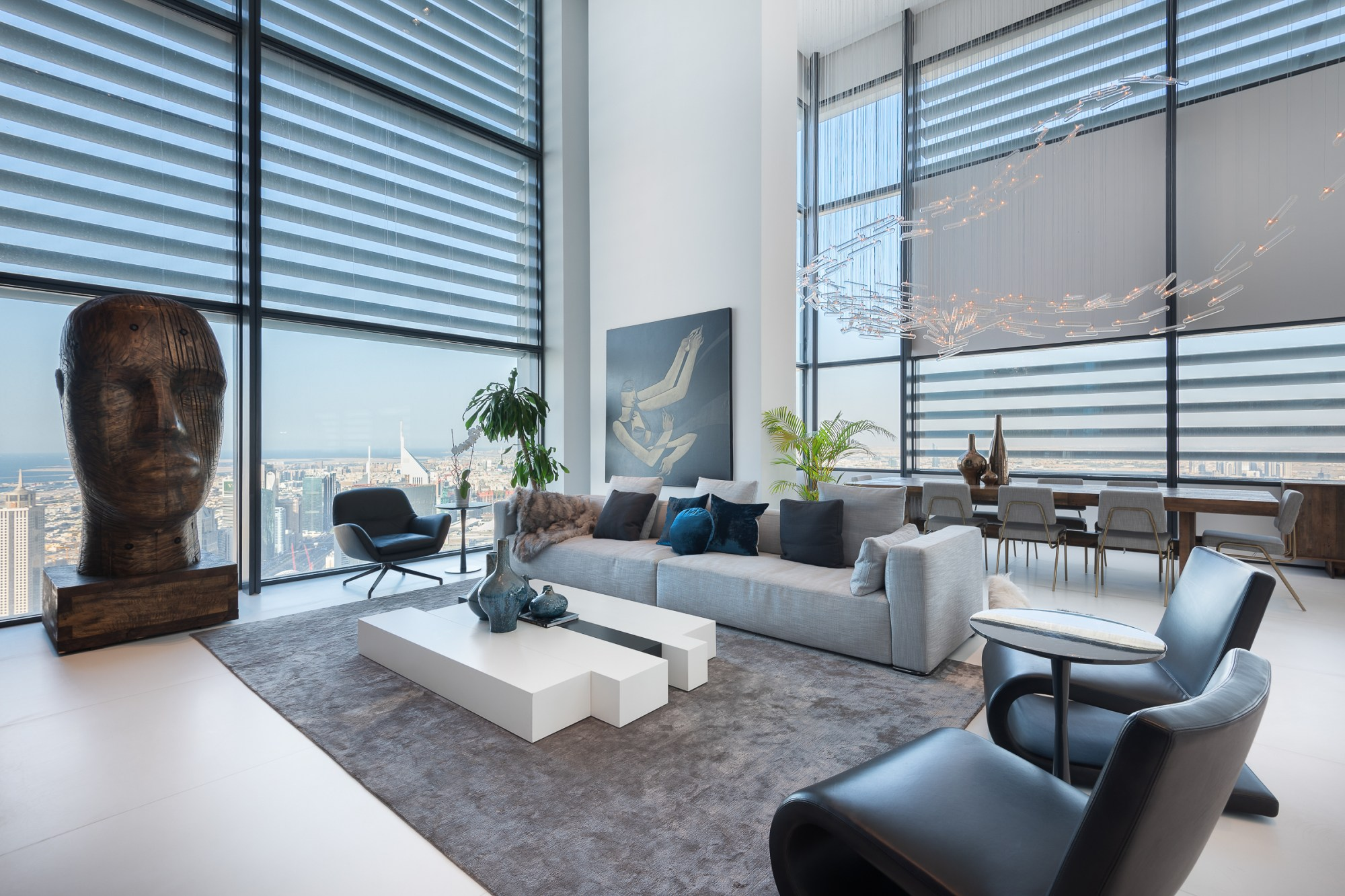 Super Exclusive 5 BR Triplex Penthouse with Pool