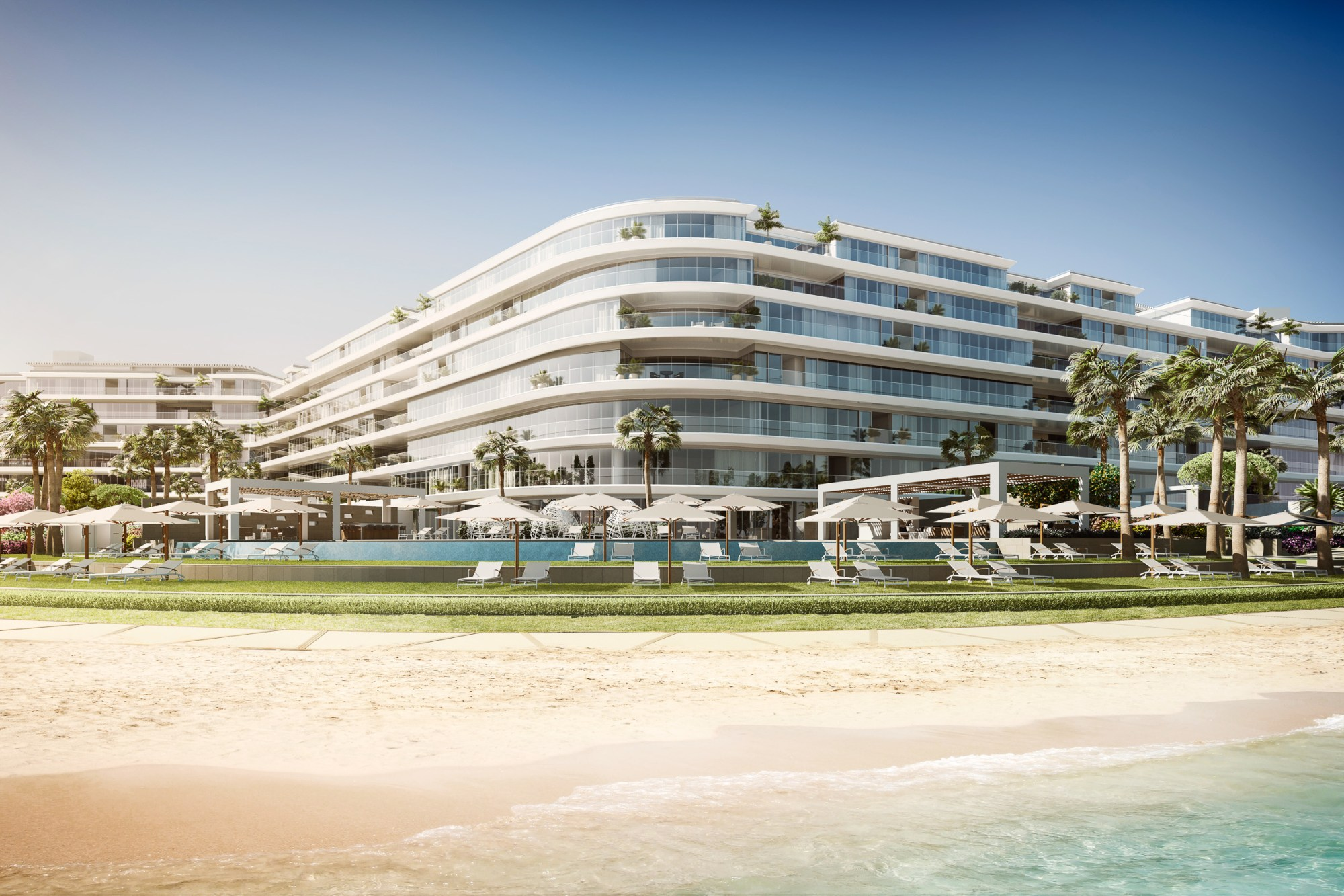 3 Bedroom In W Residences Dubai - The Palm