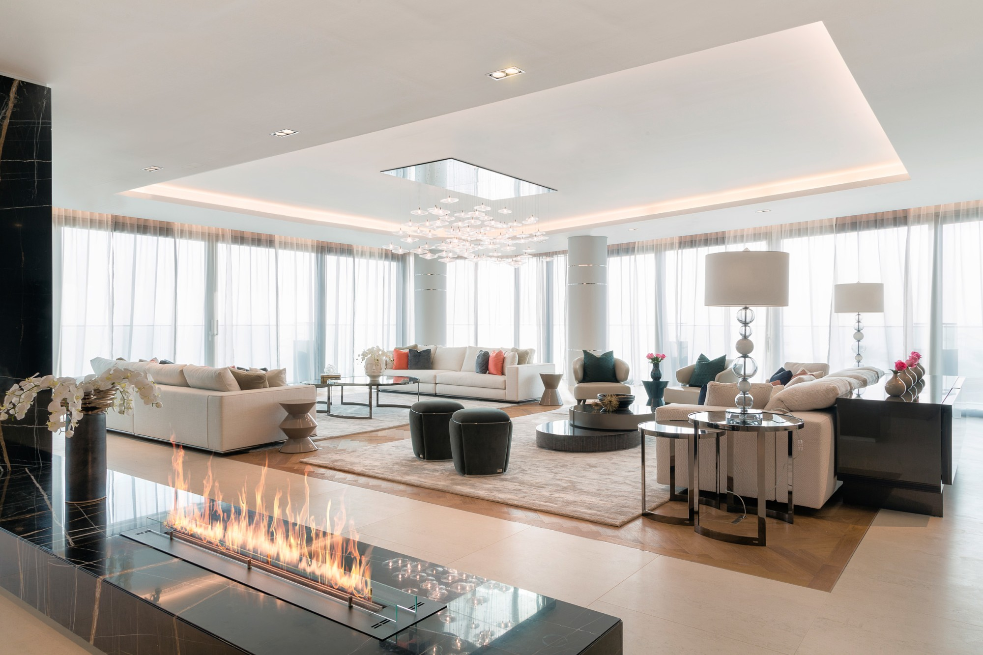 Elegant 4BR Apartment at W Residences