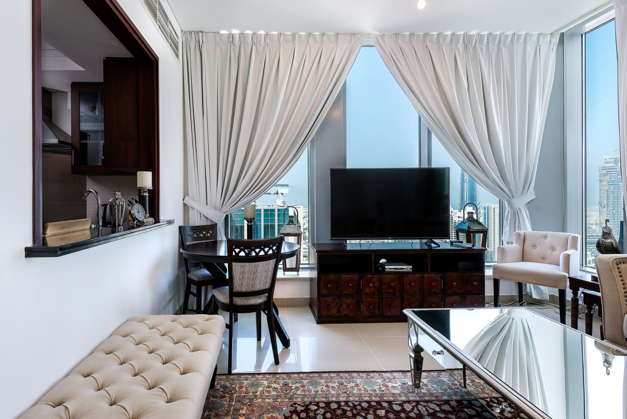 High Floor 1 Bed   Burj View   Fully Furnished