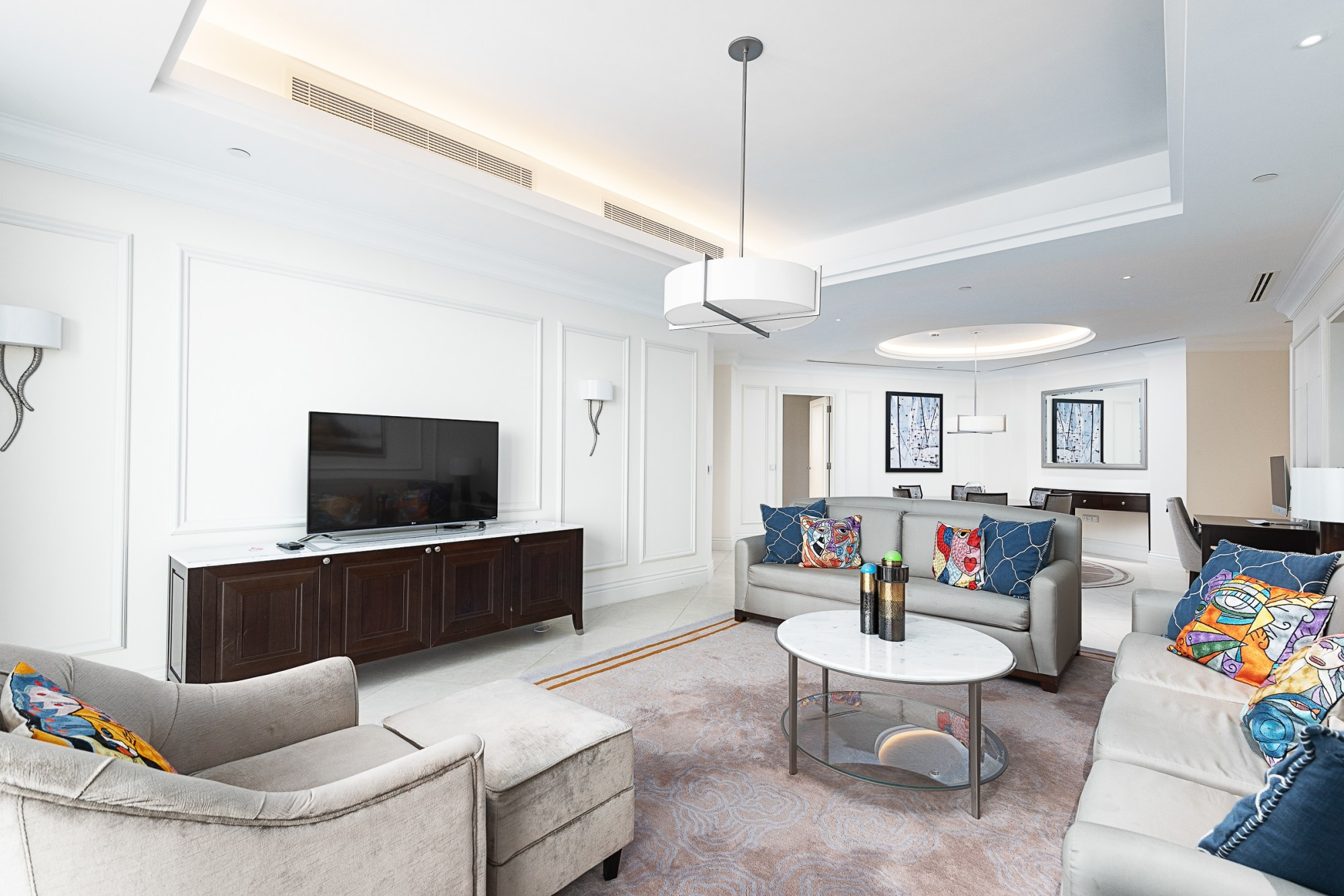 Reduced | Luxury Furnished 3 BR | Burj View