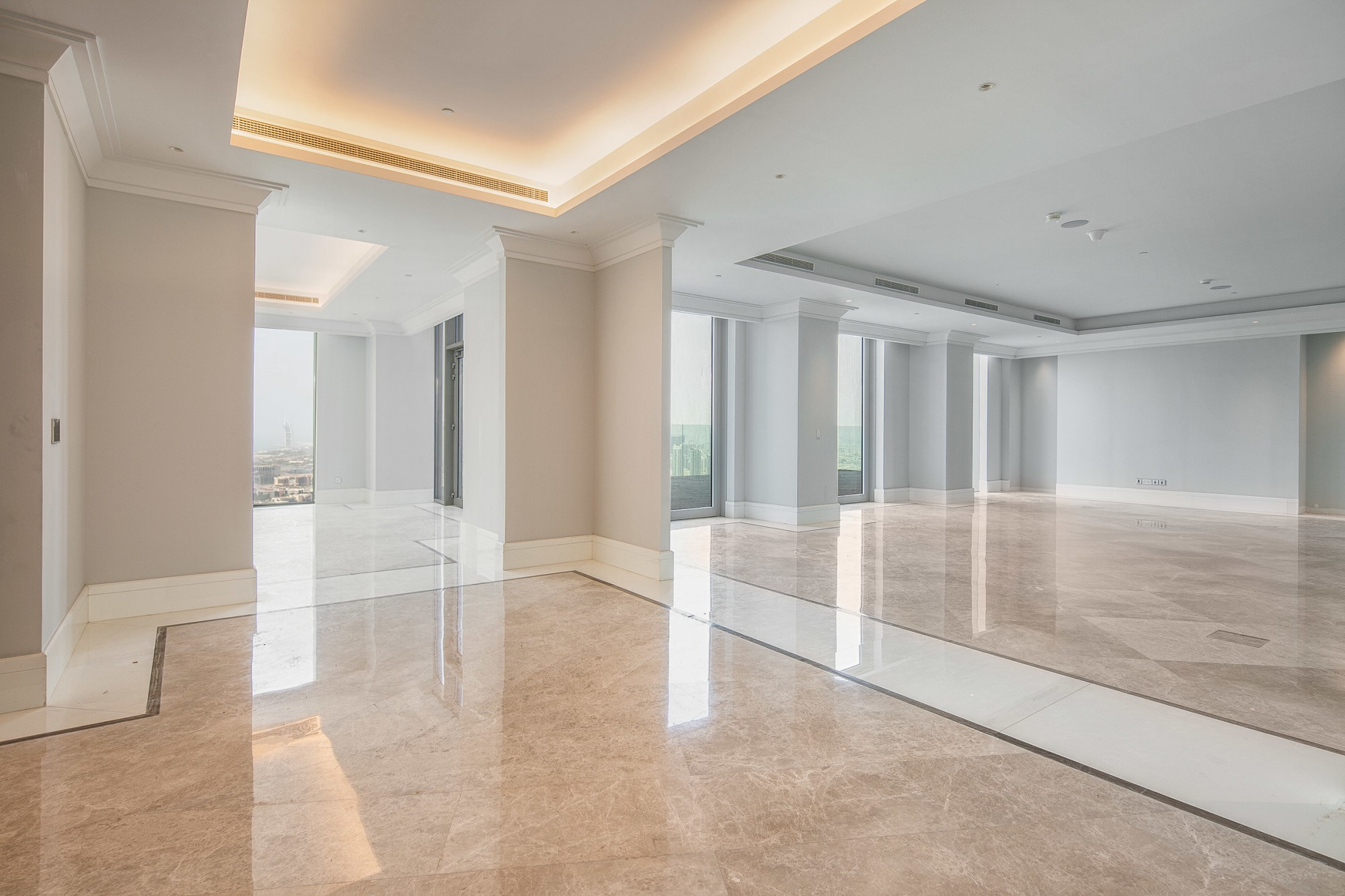 Full Floor Five Bedroom Penthouse
