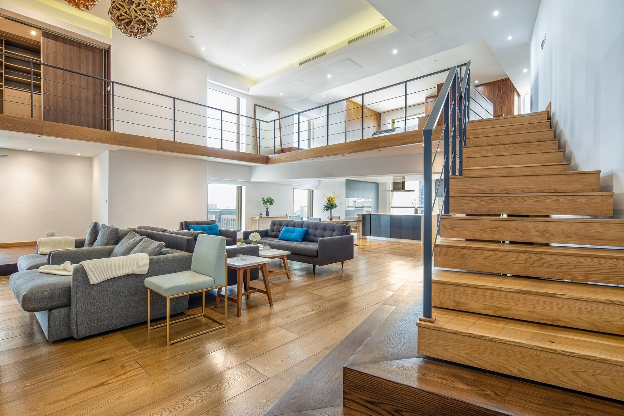 Exclusive designer loft apartment by the beach