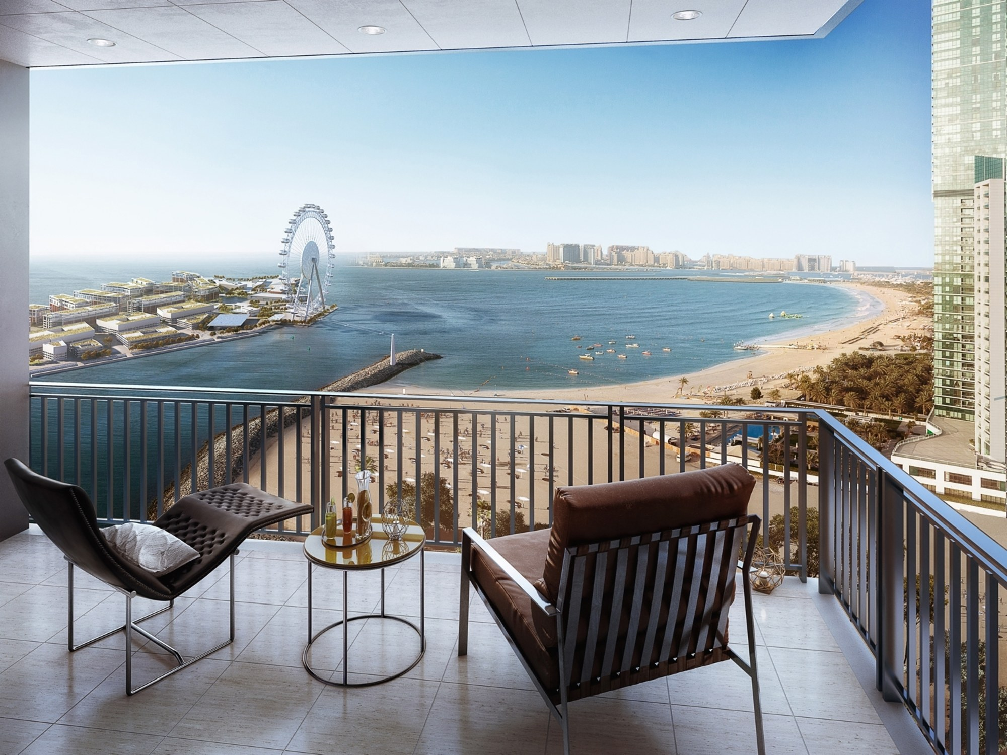 Brand new sea view apartment with payment plan