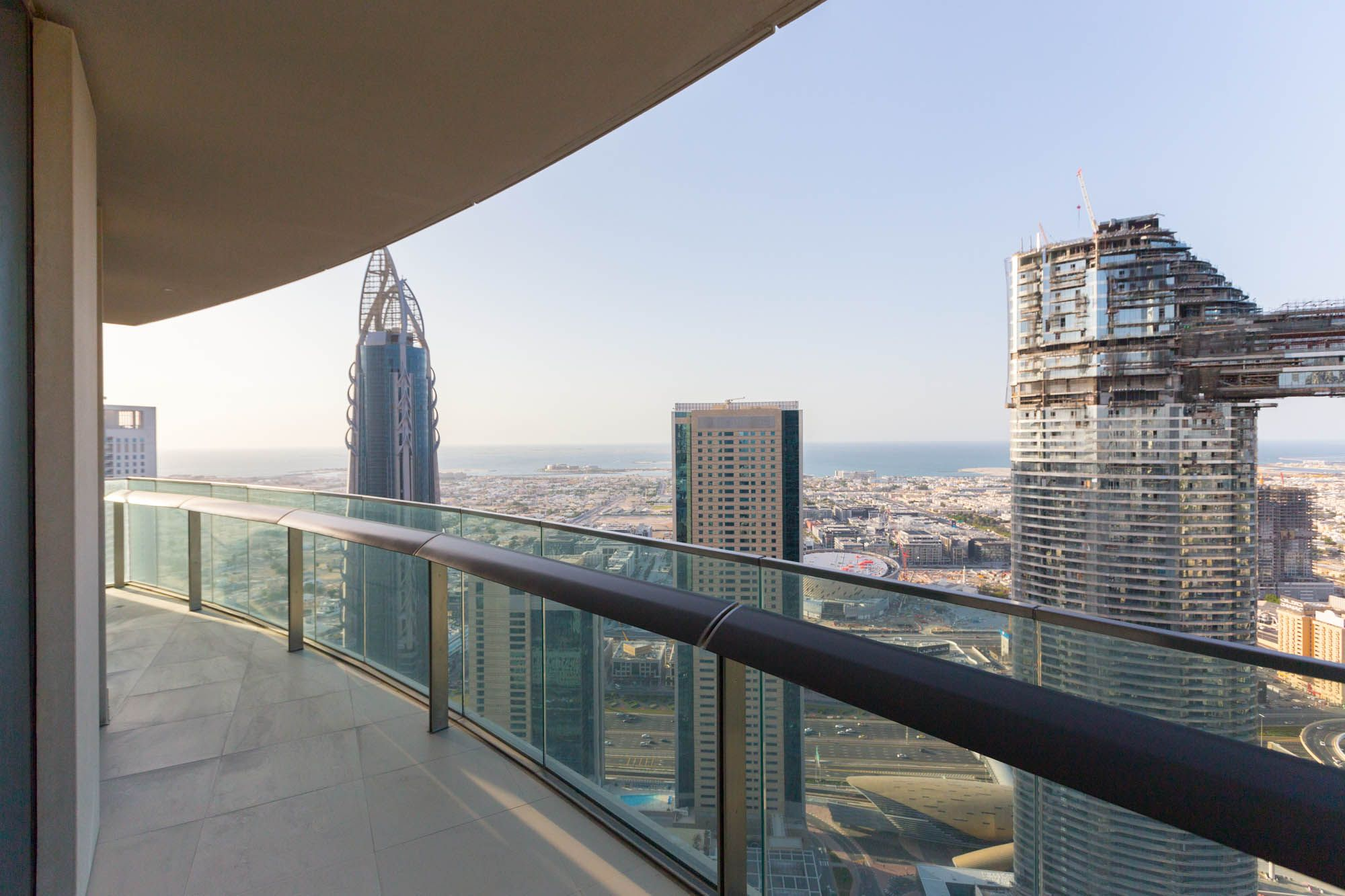2 bed in Burj Vista sea view, high floor