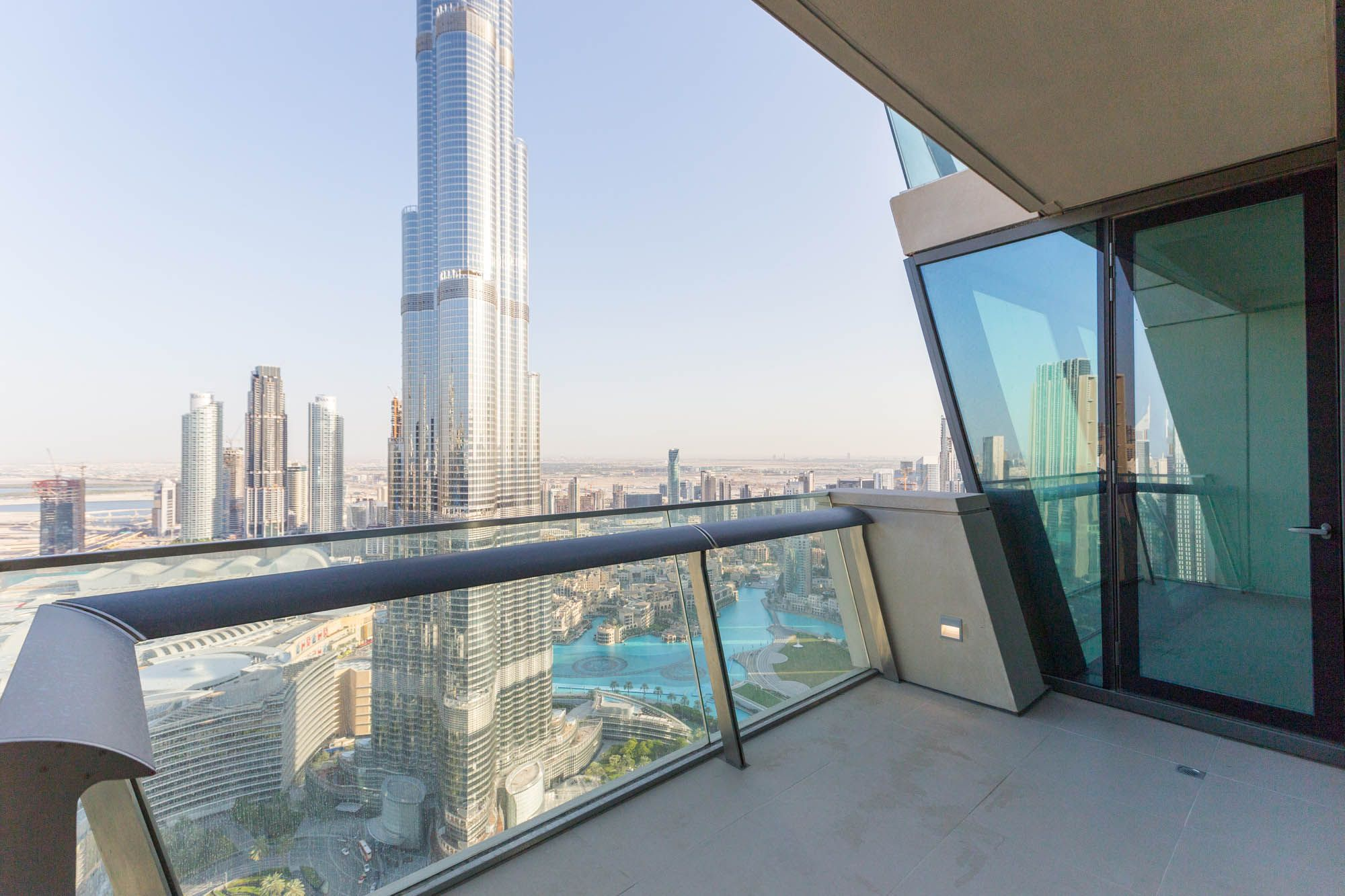 High floor 3 bed with Burj Khalifa view