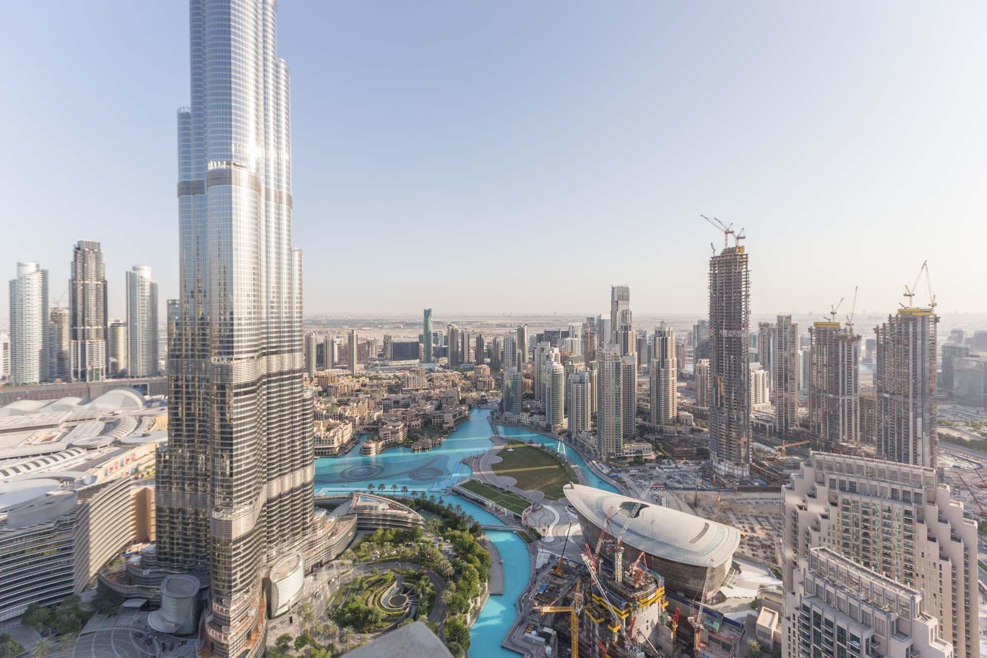 High floor 3 beds with Burj Khalifa view