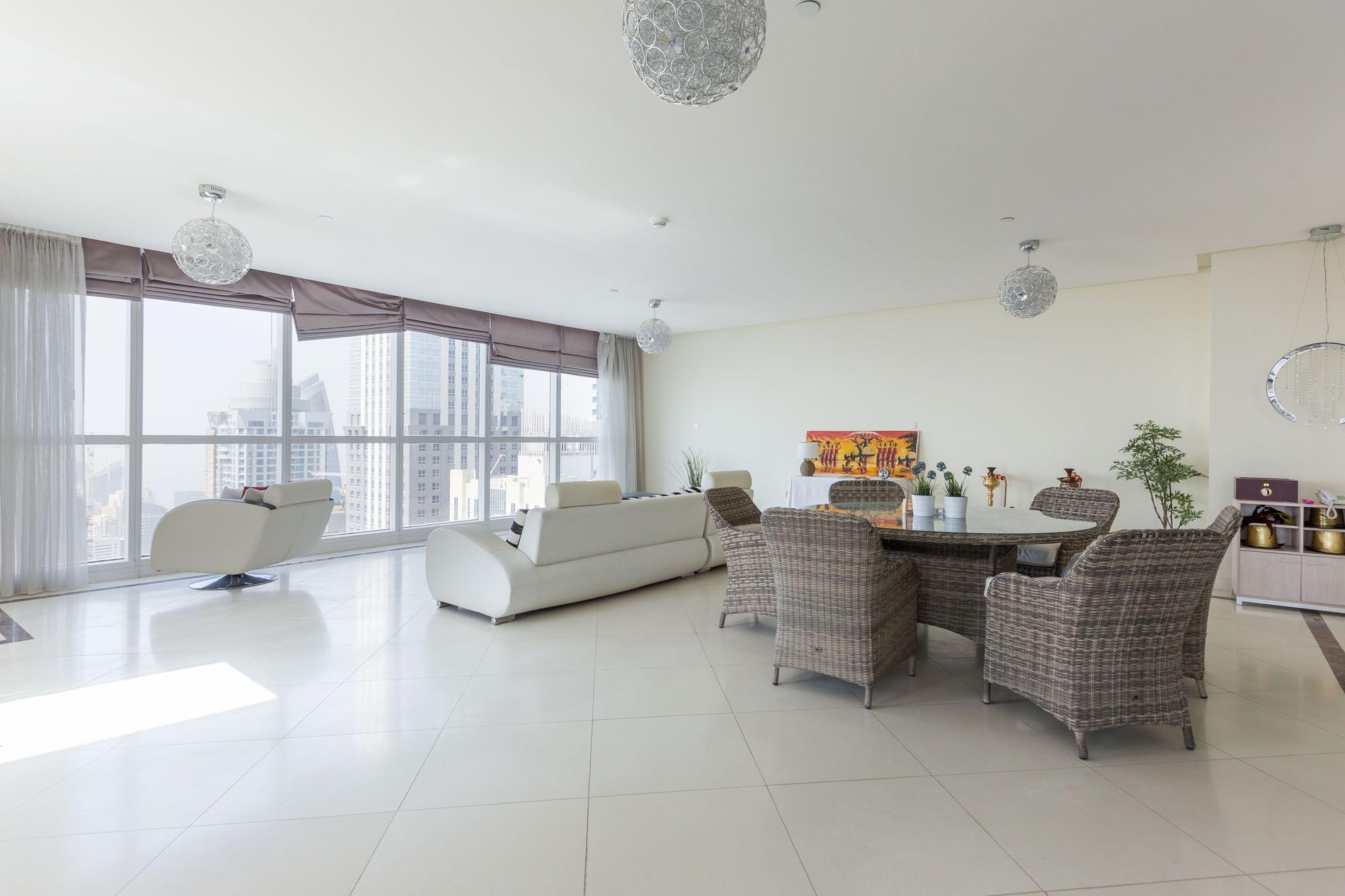 High Floor 4BR Duplex Apartment In Dubai Marina