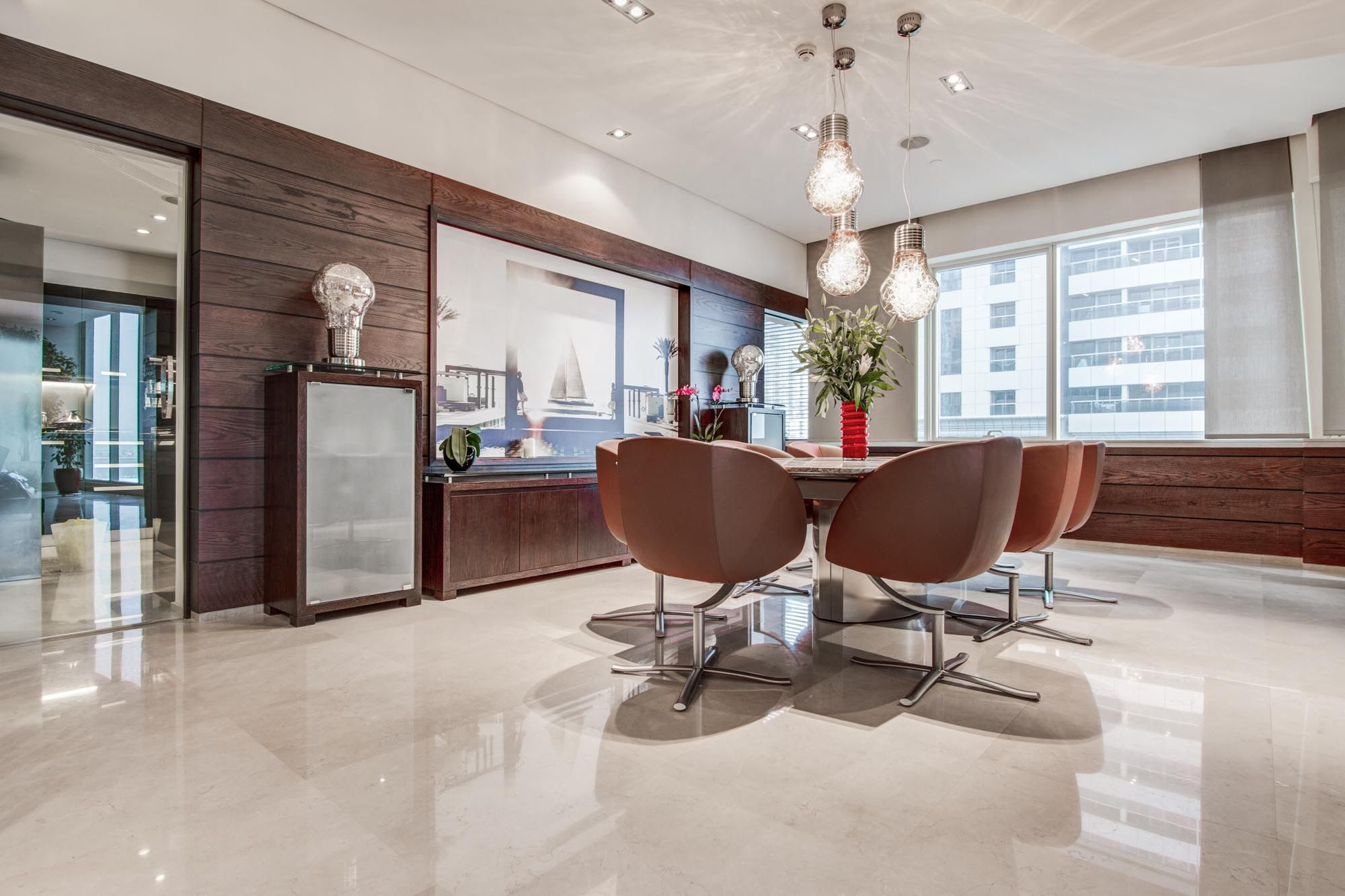 Contemporary Penthouse in Le Reve, Dubai Marina
