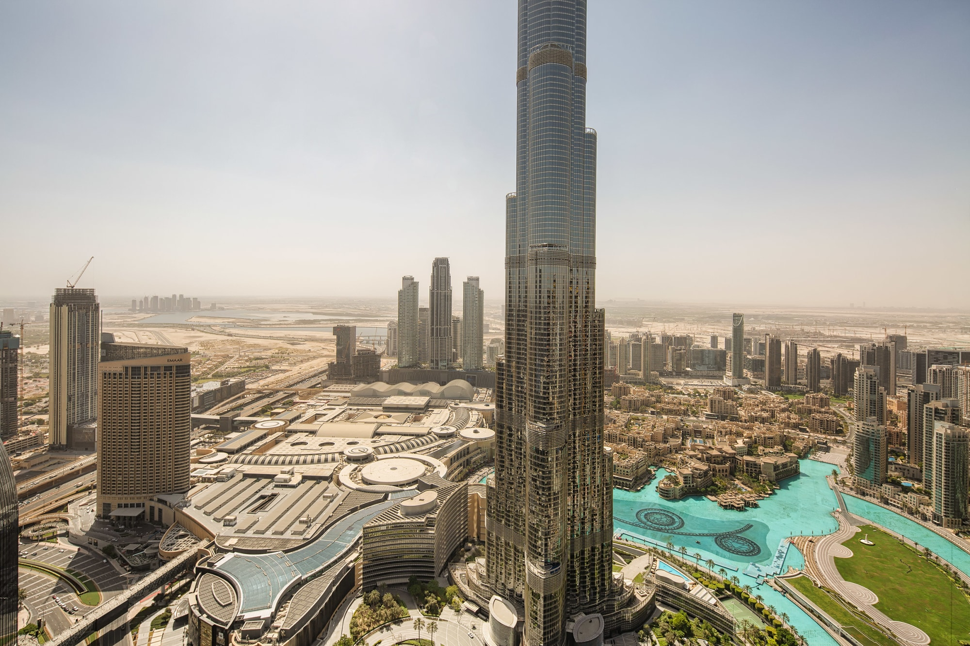 Iconic Wraparound Terrace | Full Burj views