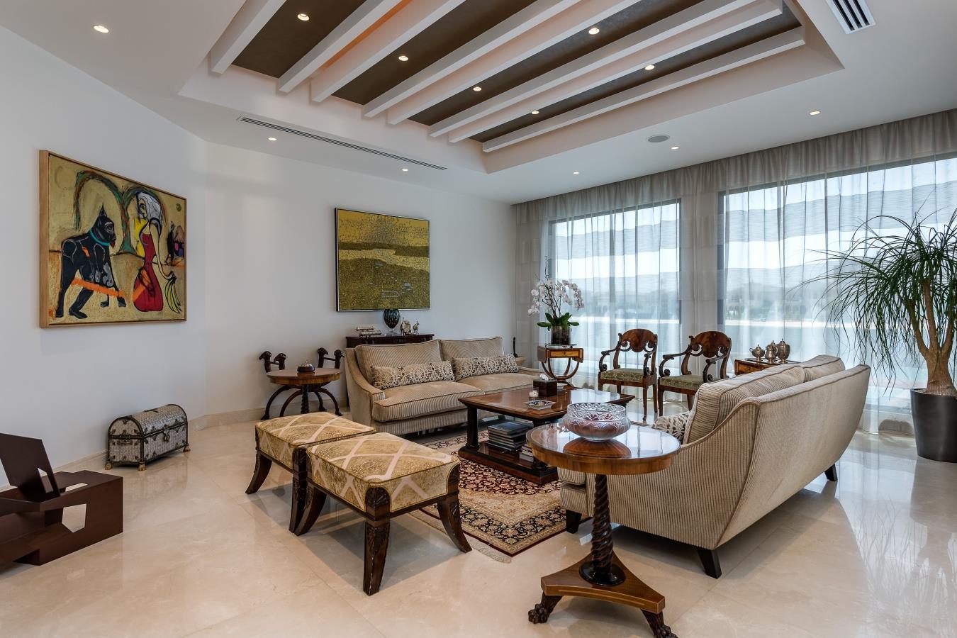 Contemporary Mediterranean Palm Home