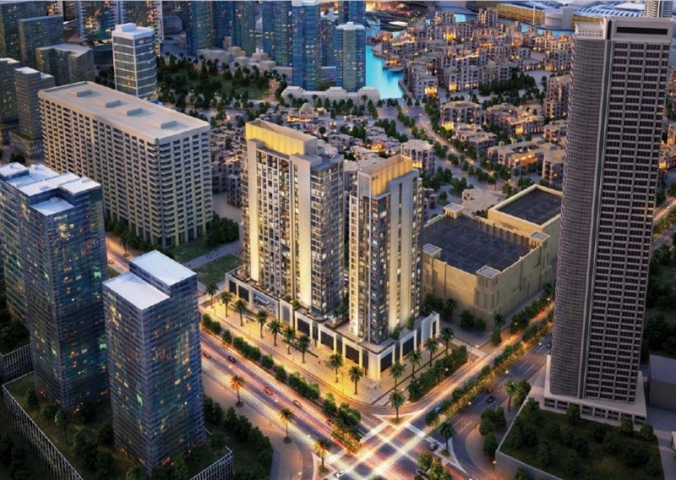 Posh 1 BR Apt in Bellevue Towers 2 by DPG
