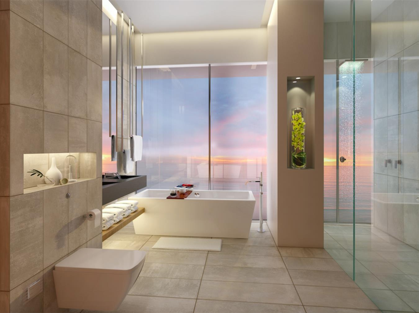 Luxuary 4 Bed High-floor Apartment in 1 JBR