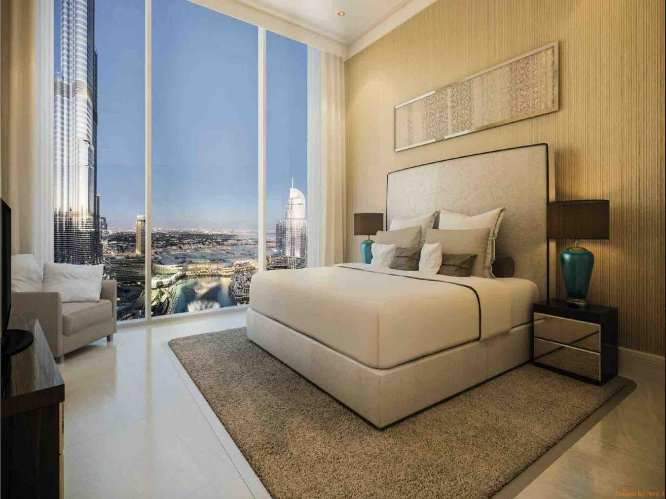 Luxurious 1 BR Apartment in Opera Grand Downtown