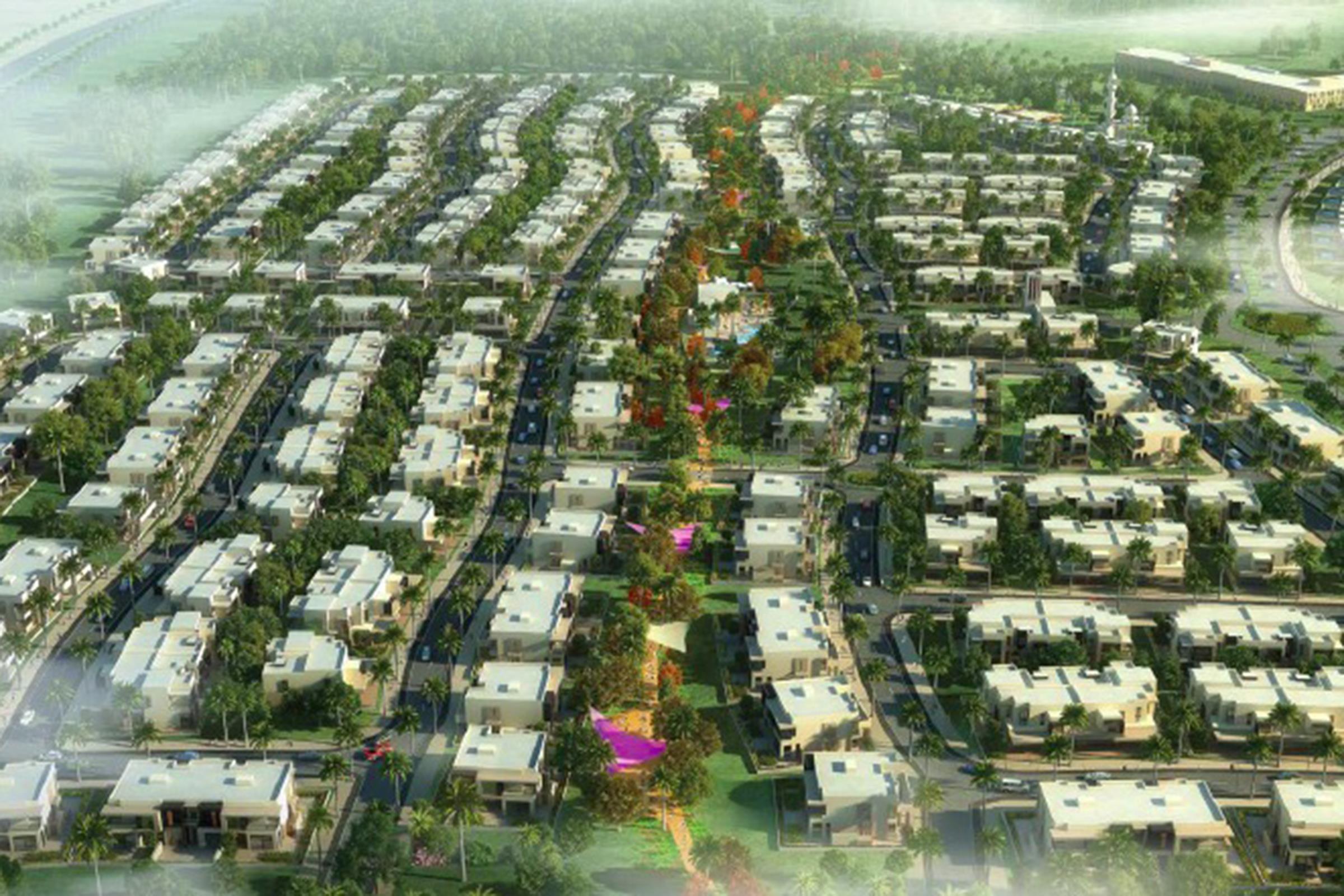 Dubai Hills Estates 4 Bed Maple Townhouse  for Sale